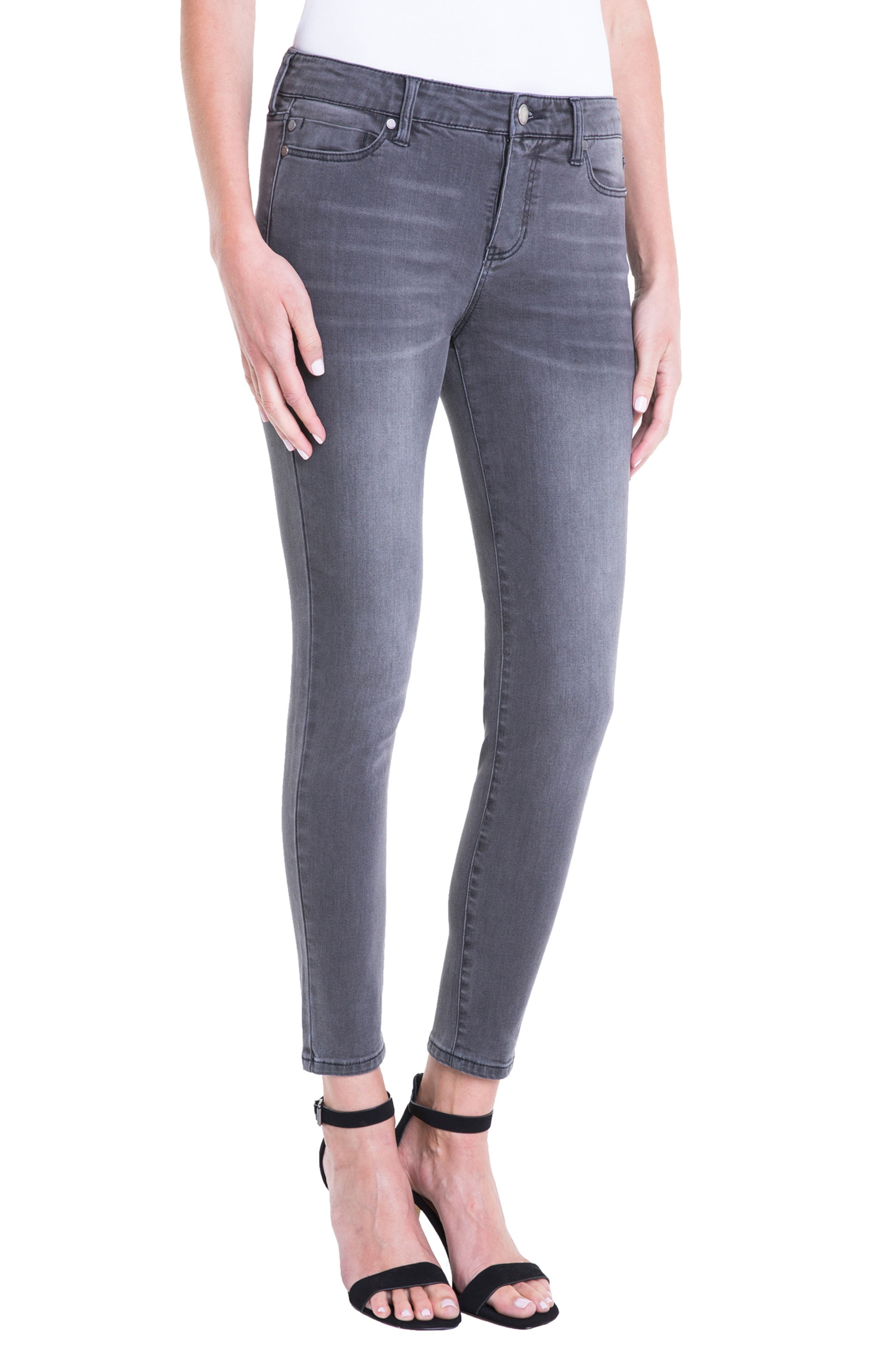 Penny Ankle Skinny Jeans,                             Alternate thumbnail 3, color,                             020