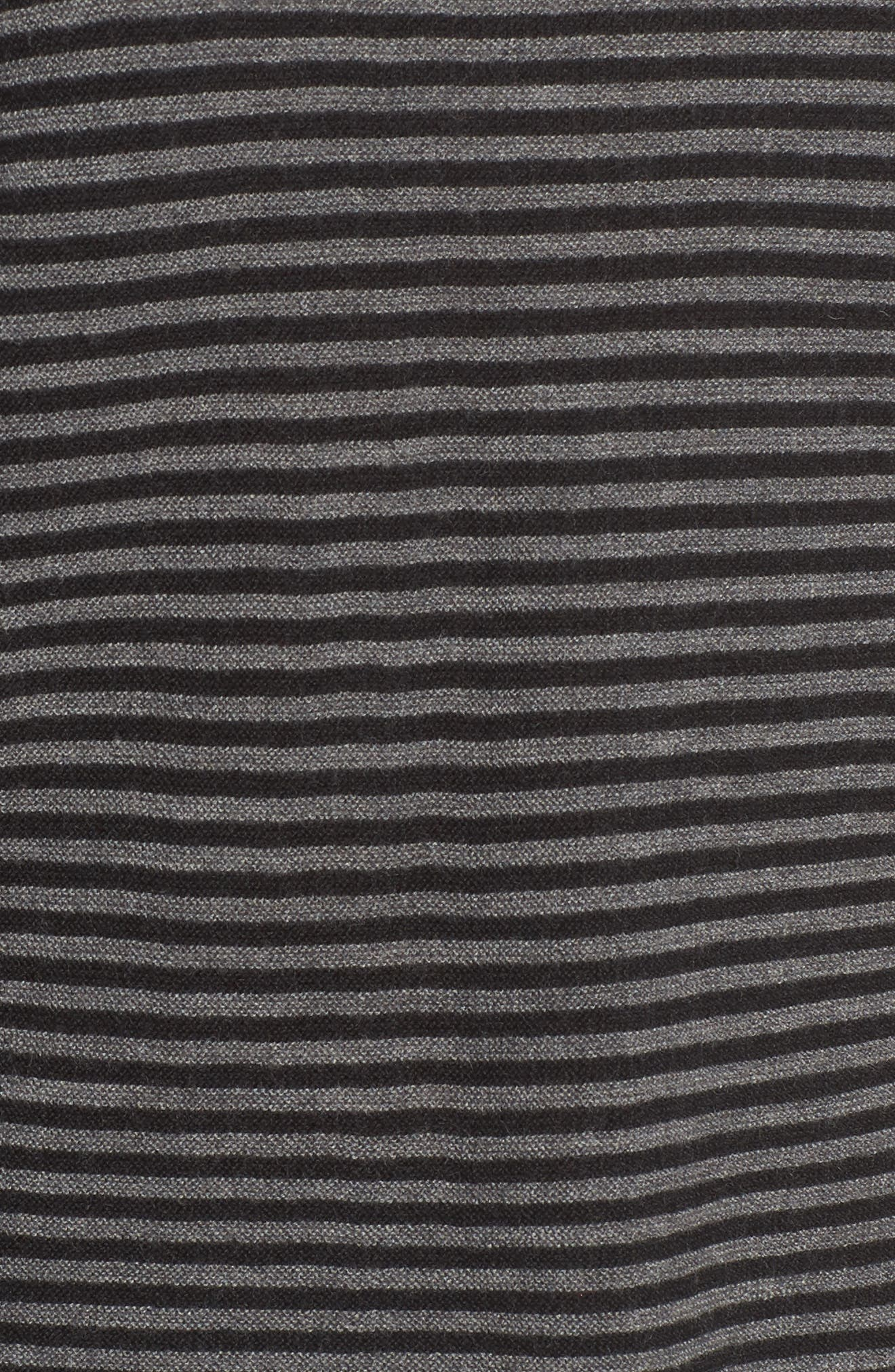 Stripe Merino Wool Sweater,                             Alternate thumbnail 5, color,                             028