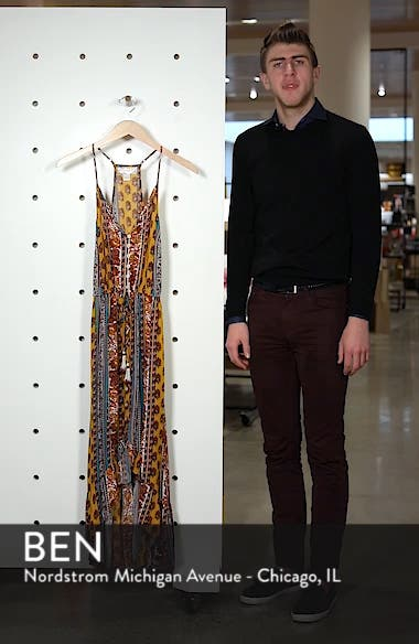 Geo Stripe High/Low Dress, sales video thumbnail