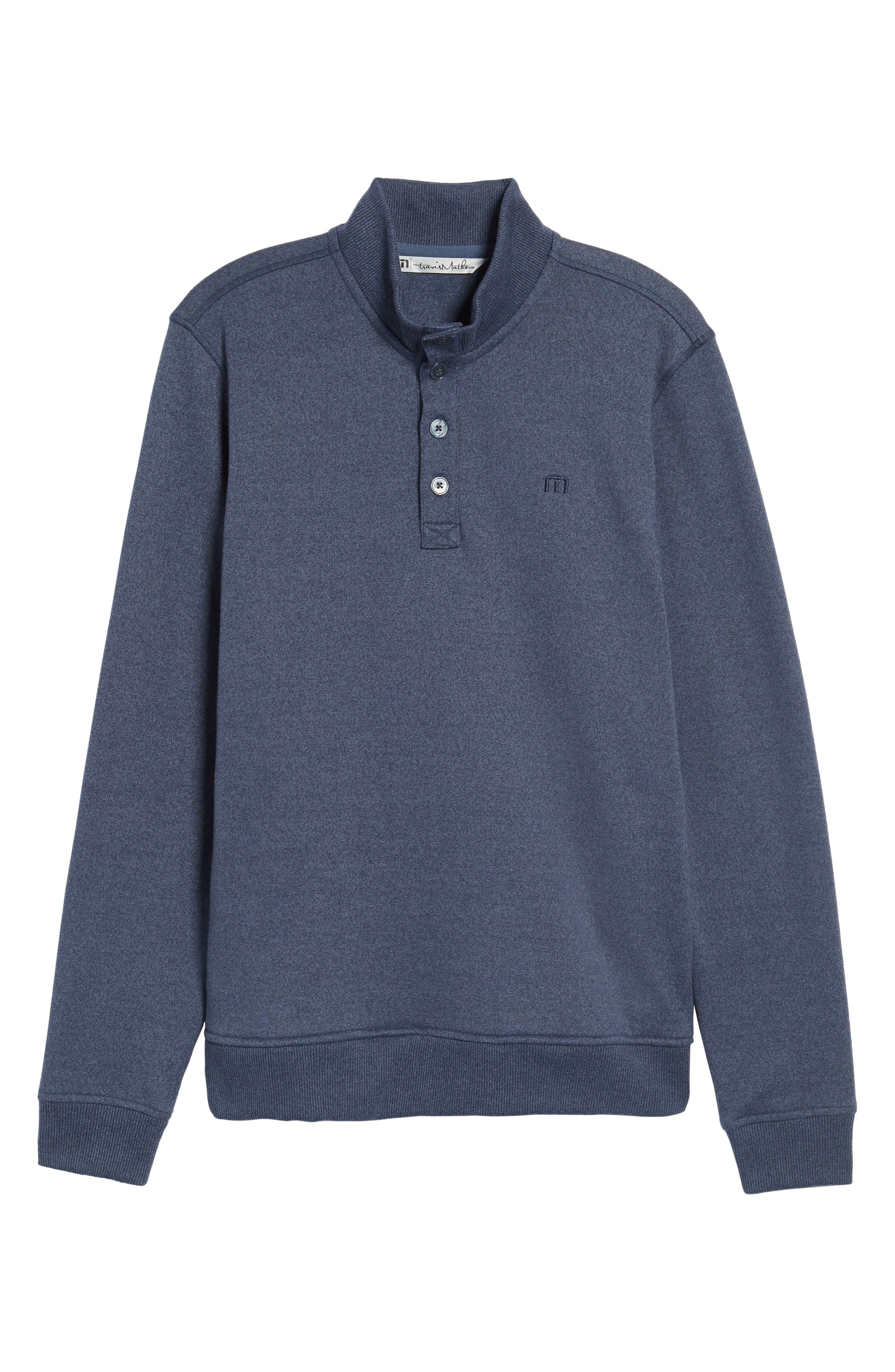 'Wall' Mock Neck Pullover,                             Alternate thumbnail 6, color,                             401