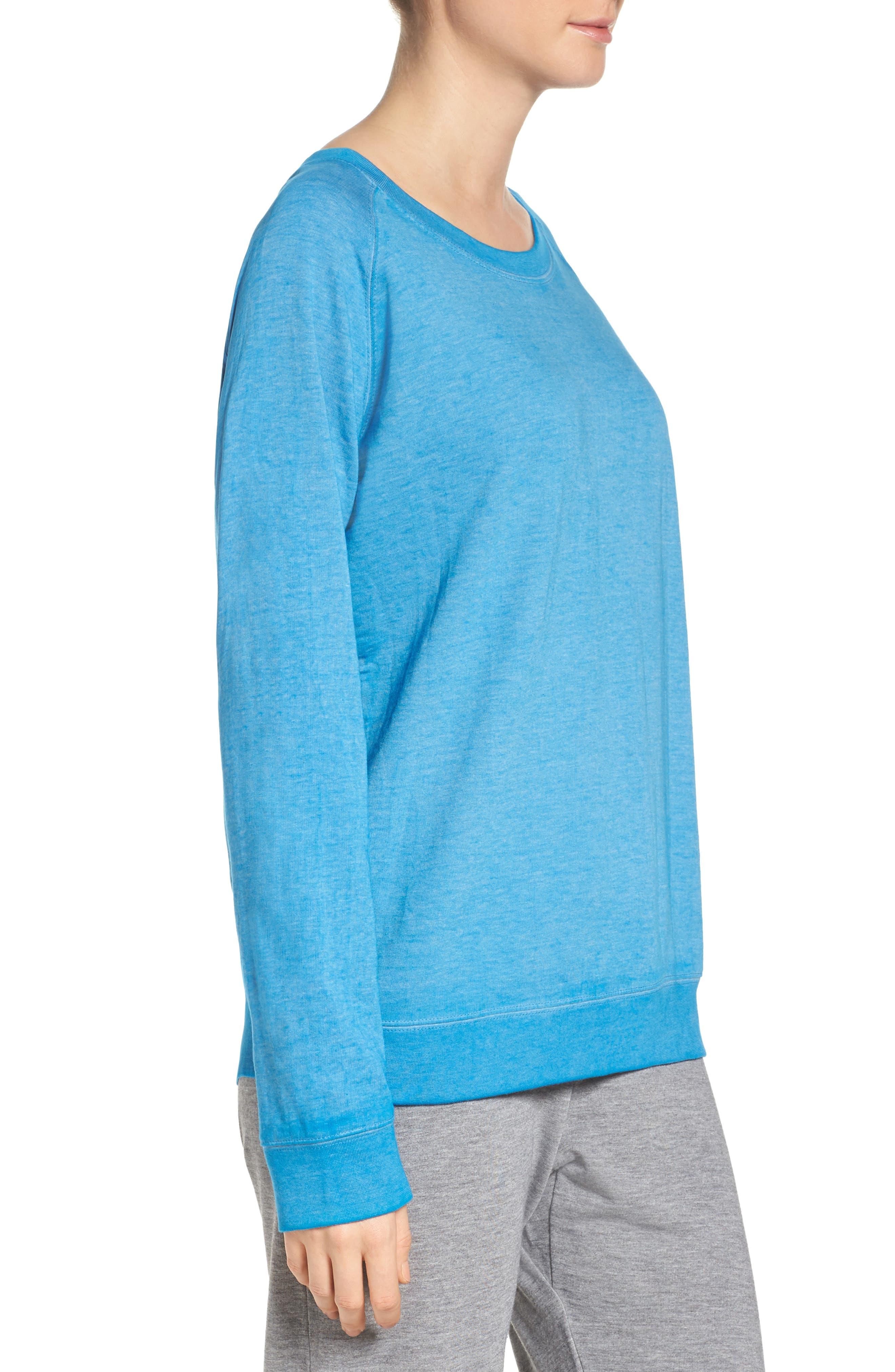 Burnout Lounge Sweatshirt,                             Alternate thumbnail 171, color,