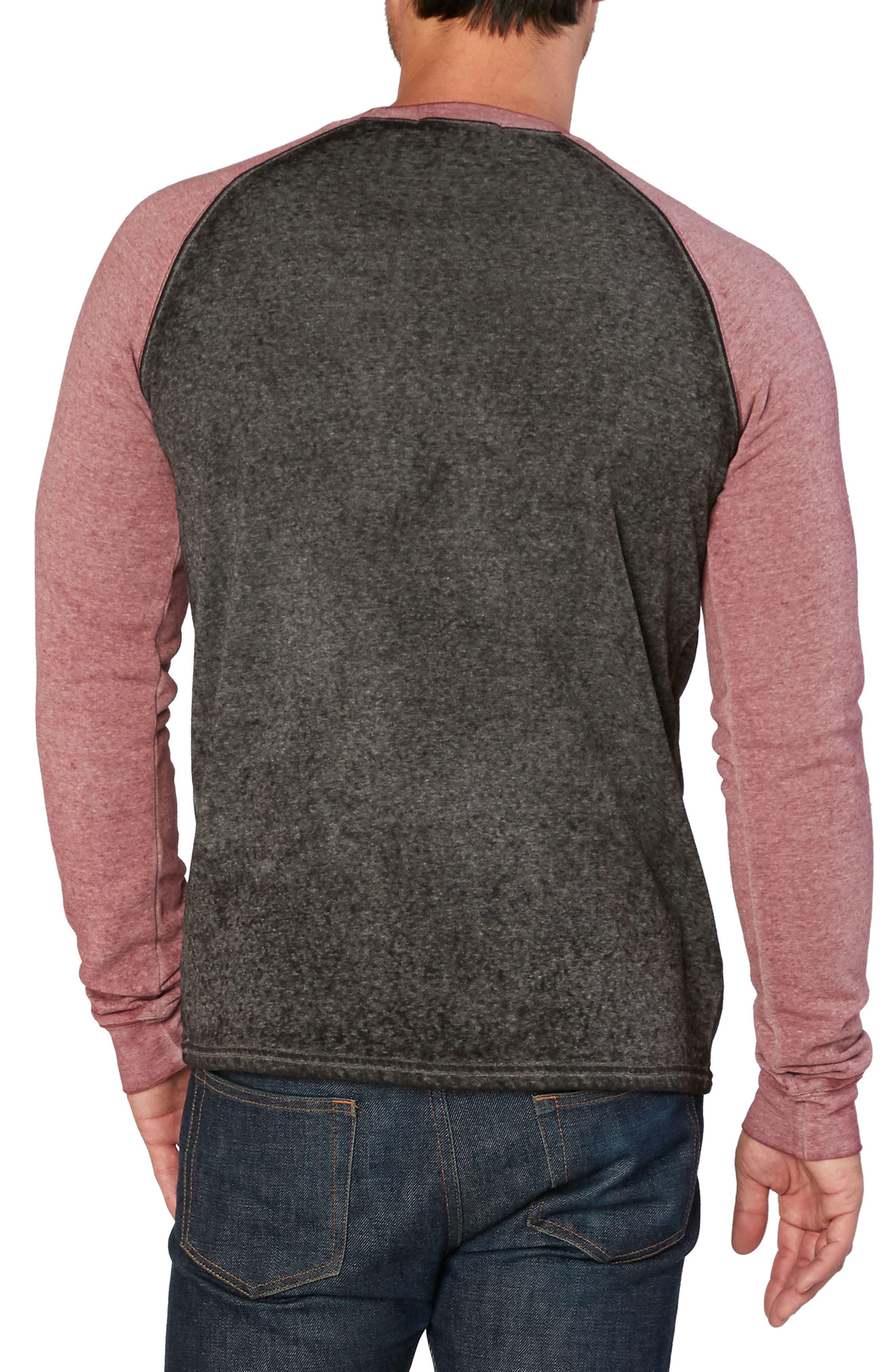 Washed Raglan Sleeve Sweatshirt,                             Alternate thumbnail 10, color,