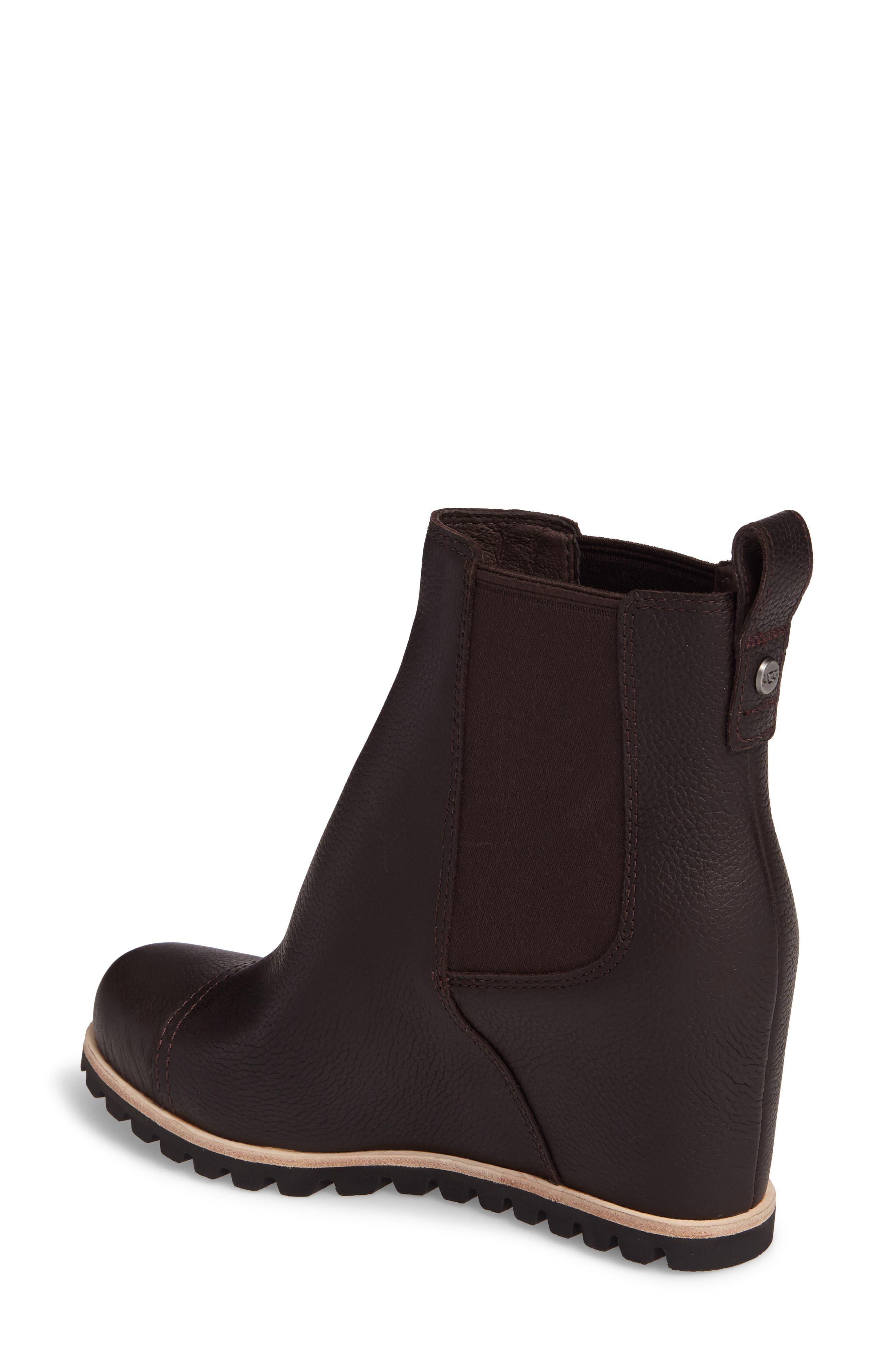 Pax Waterproof Wedge Boot,                             Alternate thumbnail 4, color,