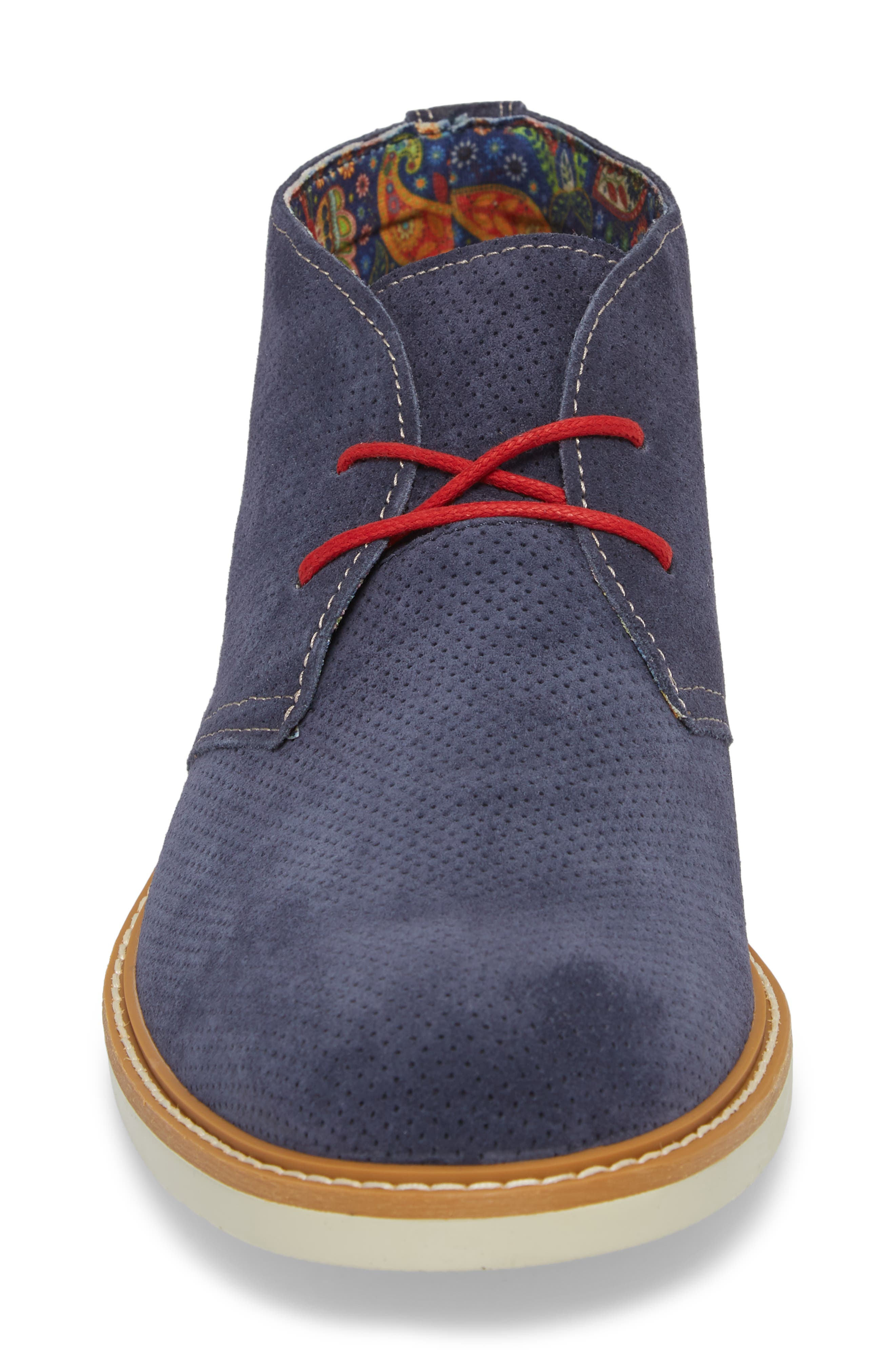 Bayside Perforated Chukka Boot,                             Alternate thumbnail 8, color,