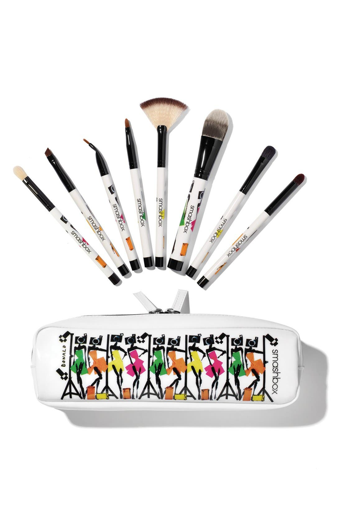 'Photo Bombshell' 8-Piece Brush Collection,                             Main thumbnail 1, color,                             000