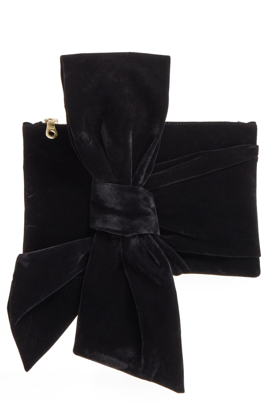 Orlanda Bow Pouch,                         Main,                         color, 001