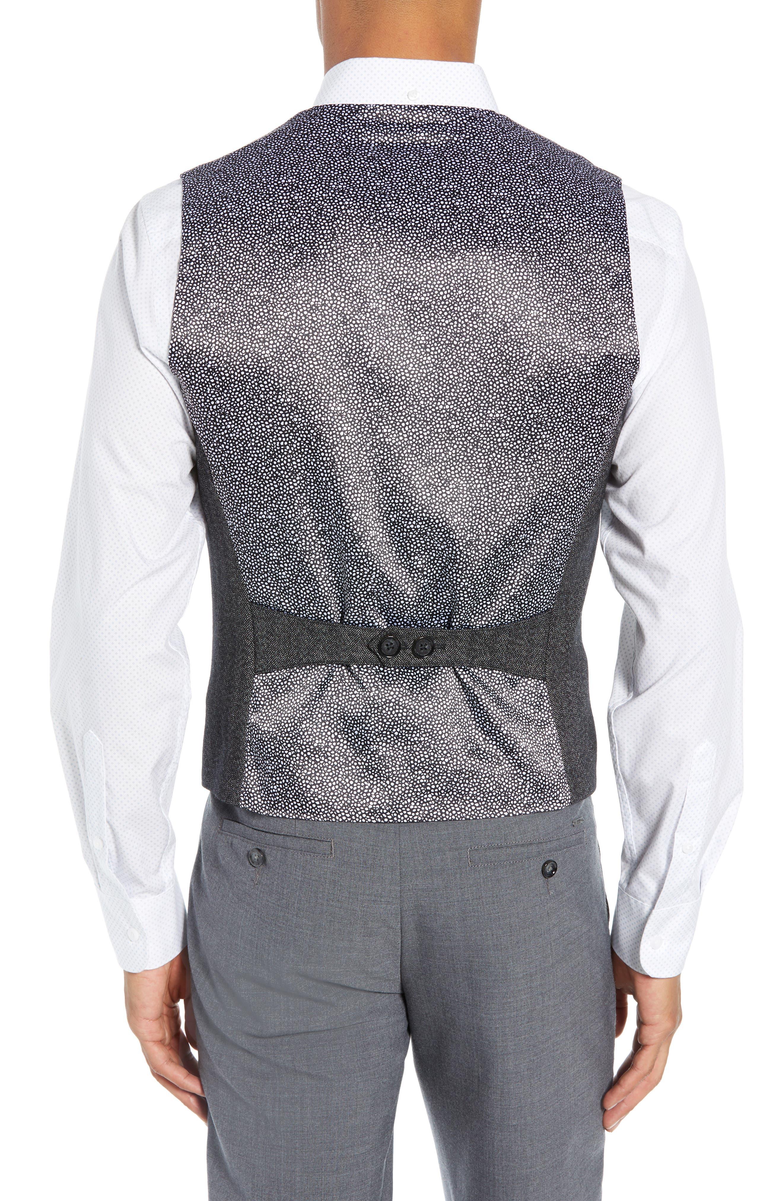 Wenswai Slim Vest,                             Alternate thumbnail 2, color,                             CHARCOAL