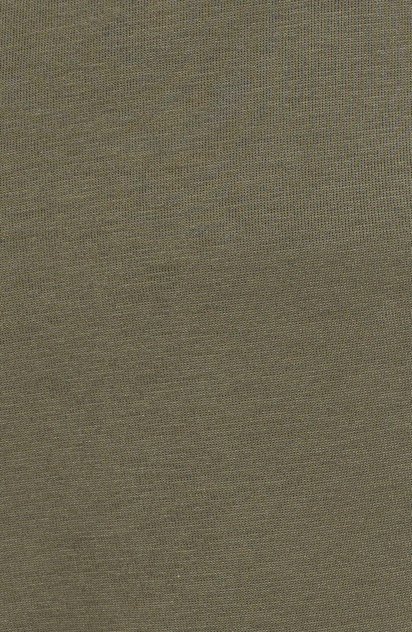 Tech Fleece Jogger Pants,                             Alternate thumbnail 5, color,                             BLACK/ TWILIGHT MARSH/ BLACK
