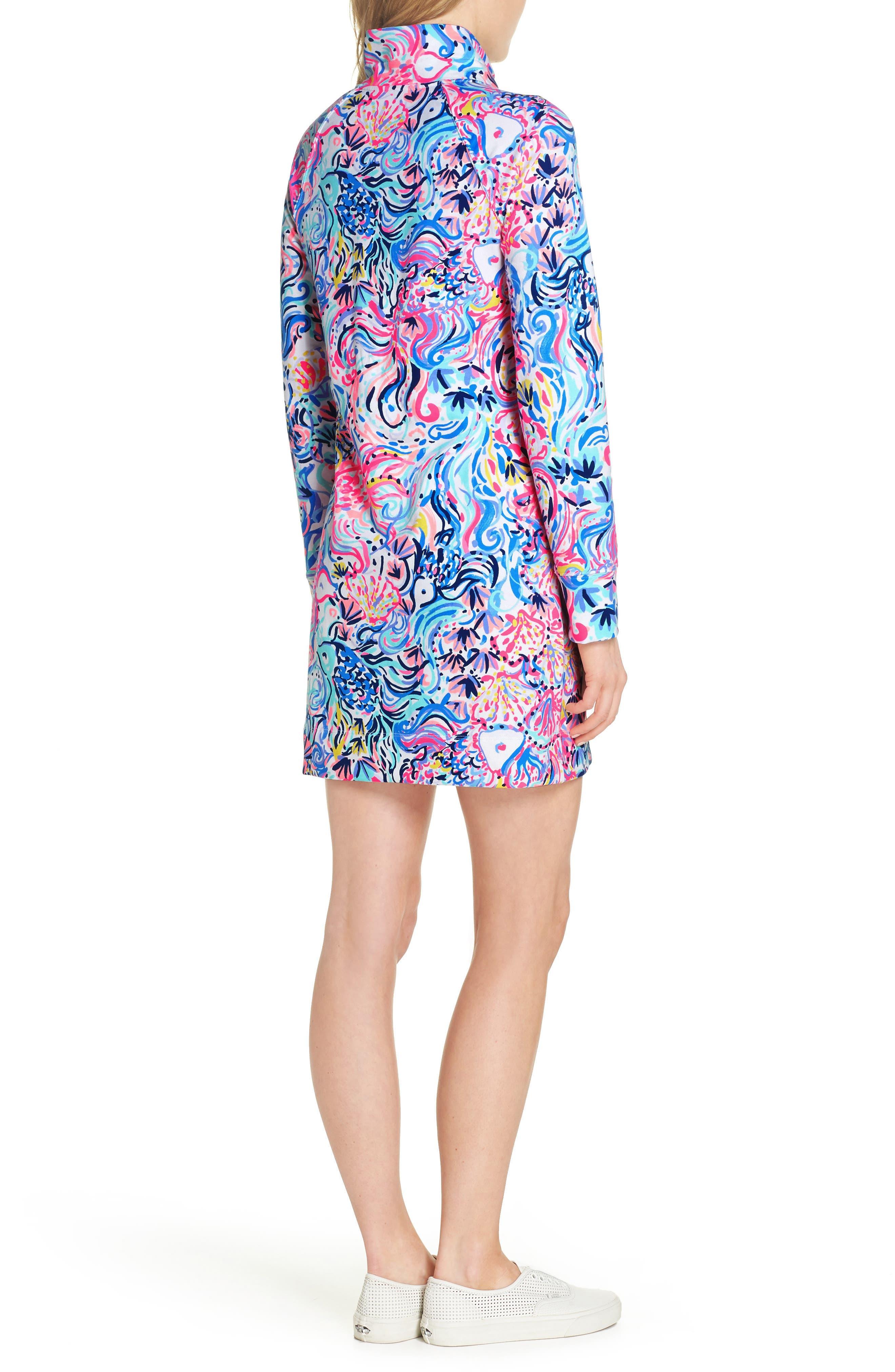 Skipper UPF 50+ Dress,                             Alternate thumbnail 2, color,                             MULTI SO SOPHISHTICATED
