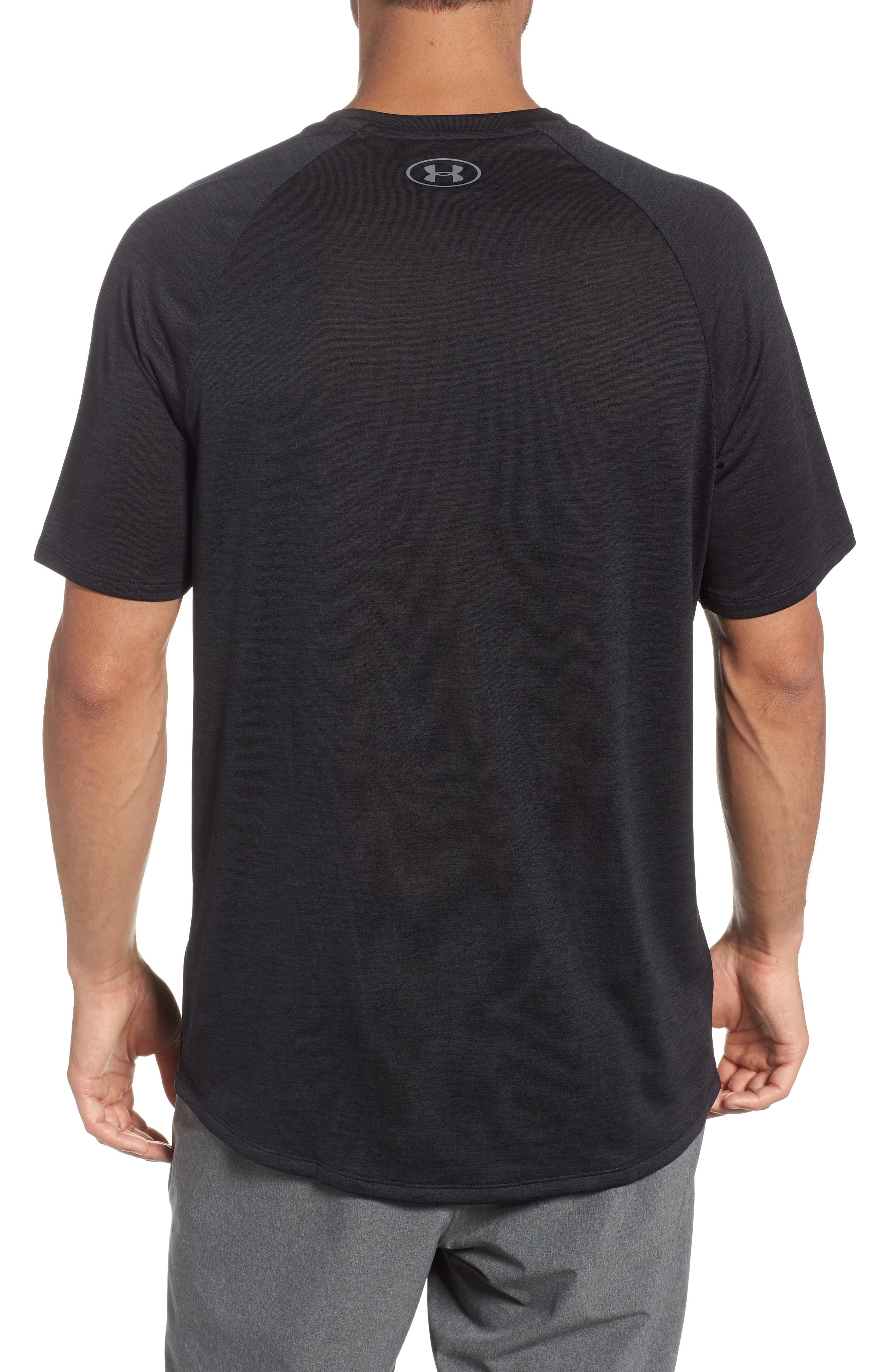 Loose Fit Tech Tee,                             Alternate thumbnail 2, color,                             001