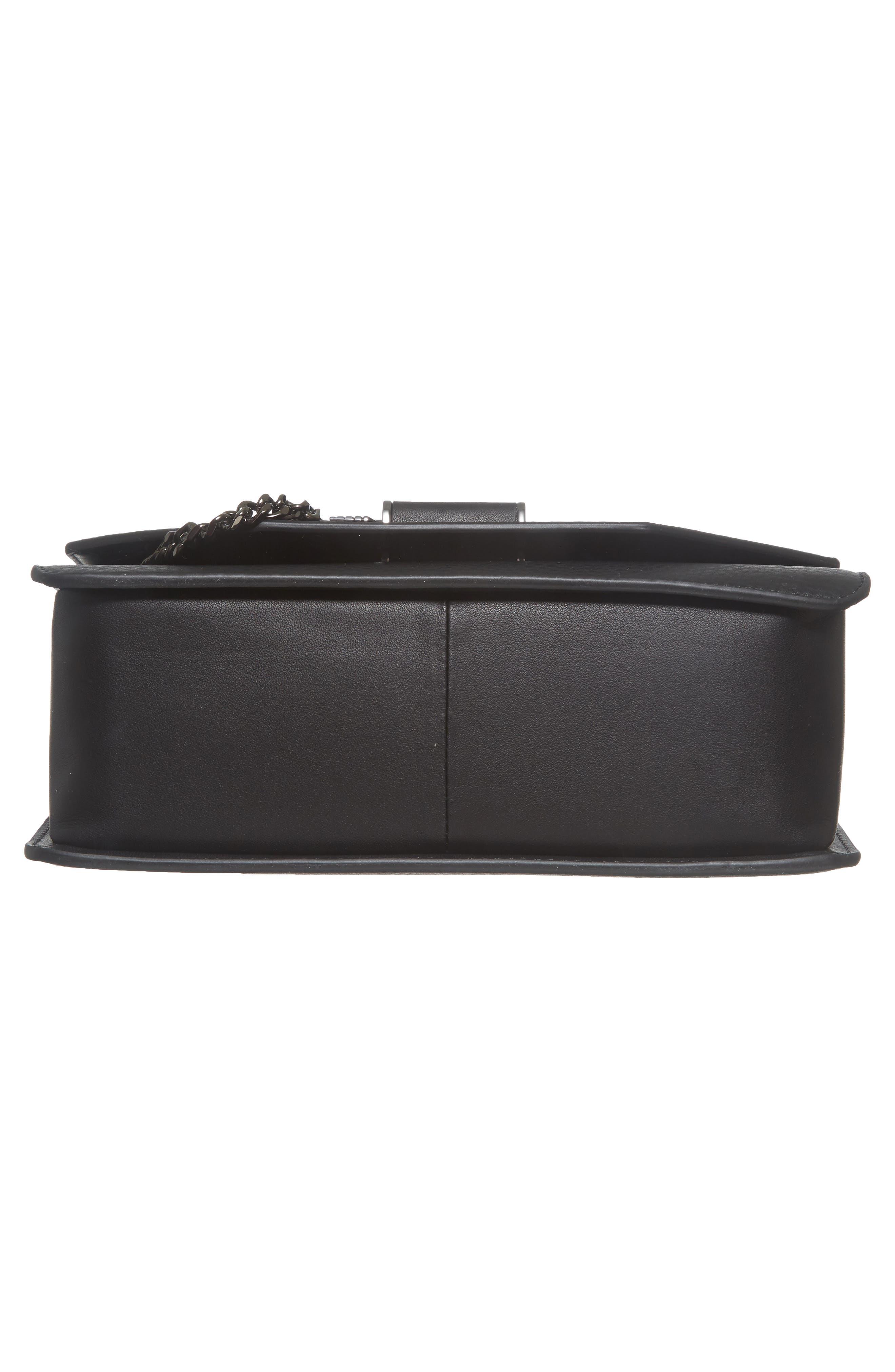 Cortney Nappa Leather Shoulder/Crossbody Bag,                             Alternate thumbnail 21, color,