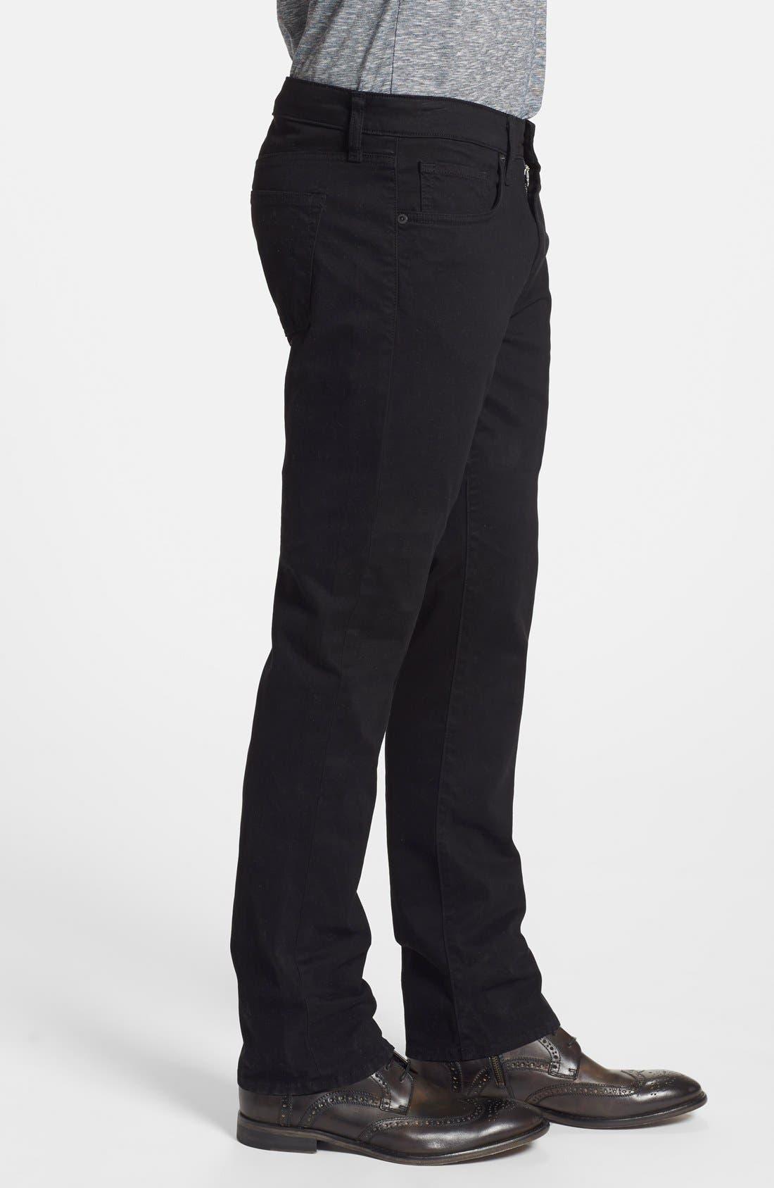 'Kane' Slim Fit Cotton Twill Pants,                             Alternate thumbnail 62, color,