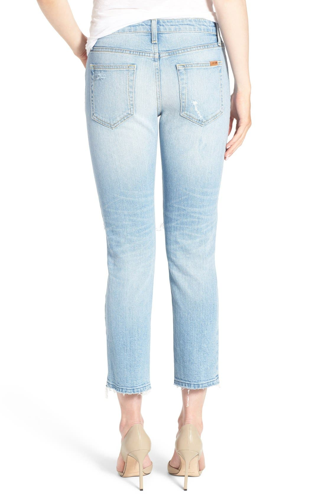 JOE'S,                             'Ex-Lover' Crop Straight Leg Boyfriend Jeans,                             Alternate thumbnail 5, color,                             430