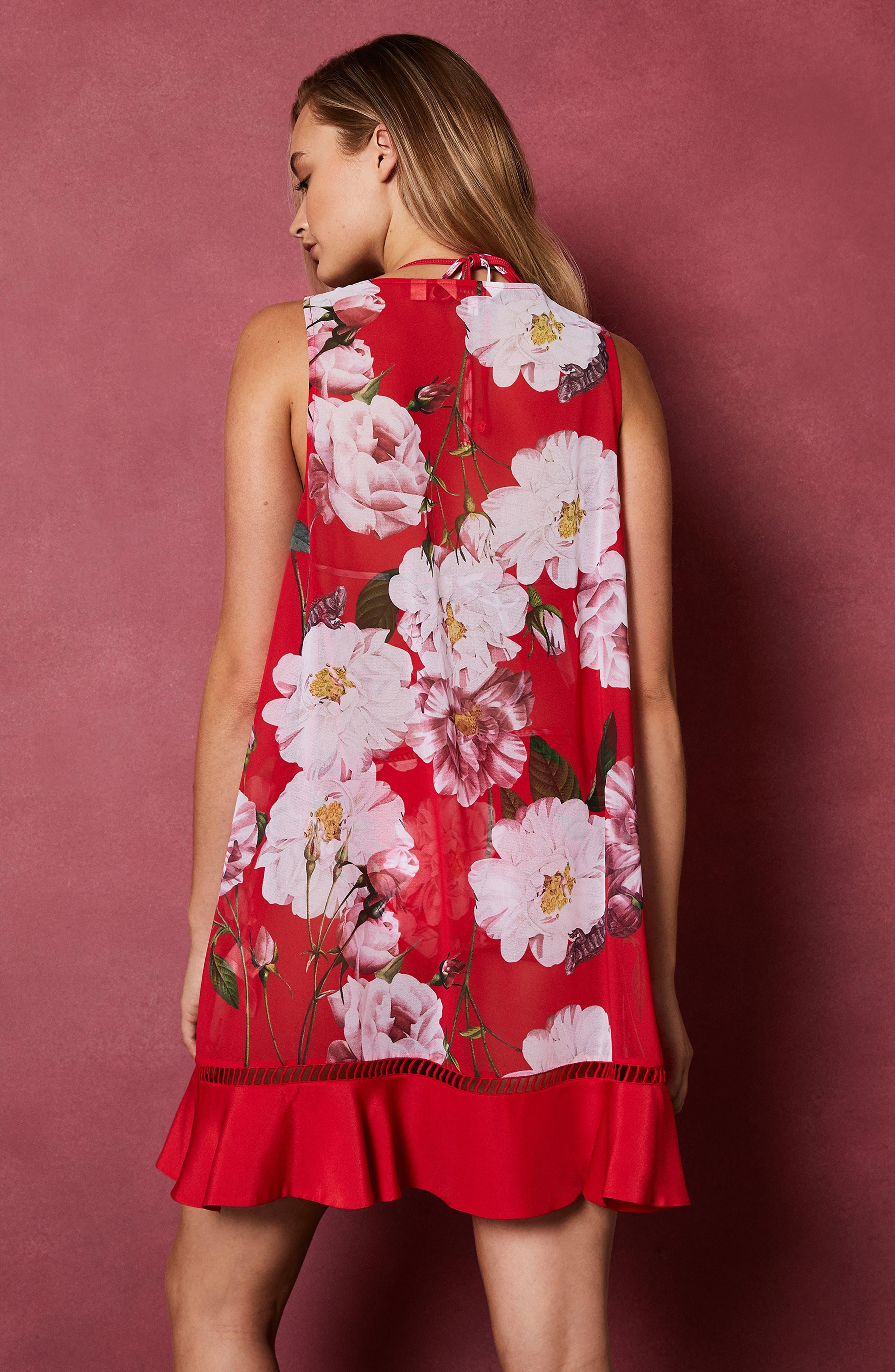 Ceskier Iguazu Cover-Up Dress,                             Alternate thumbnail 8, color,                             611