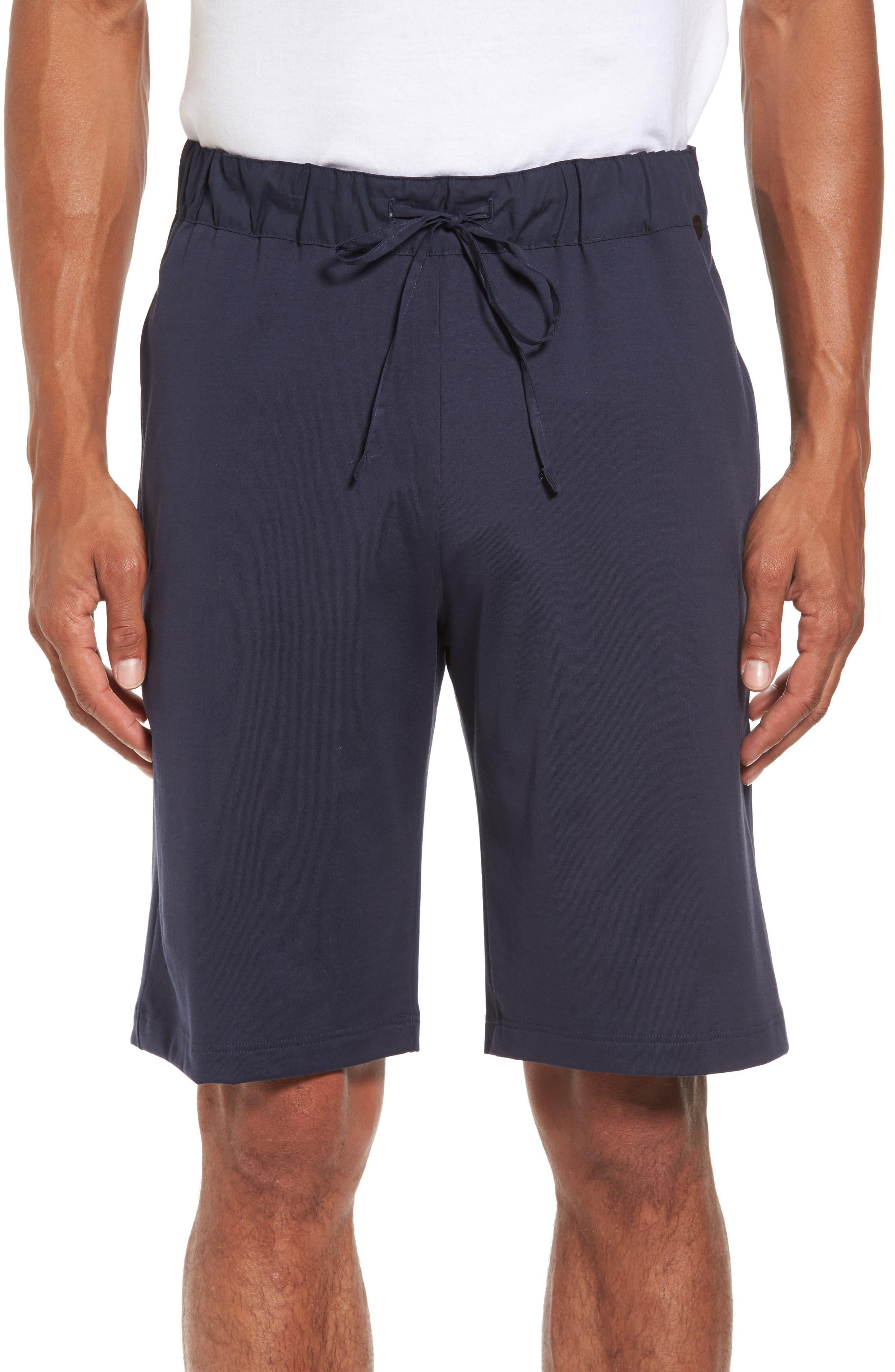 Night & Day Knit Shorts,                             Main thumbnail 1, color,                             BLACK IRIS