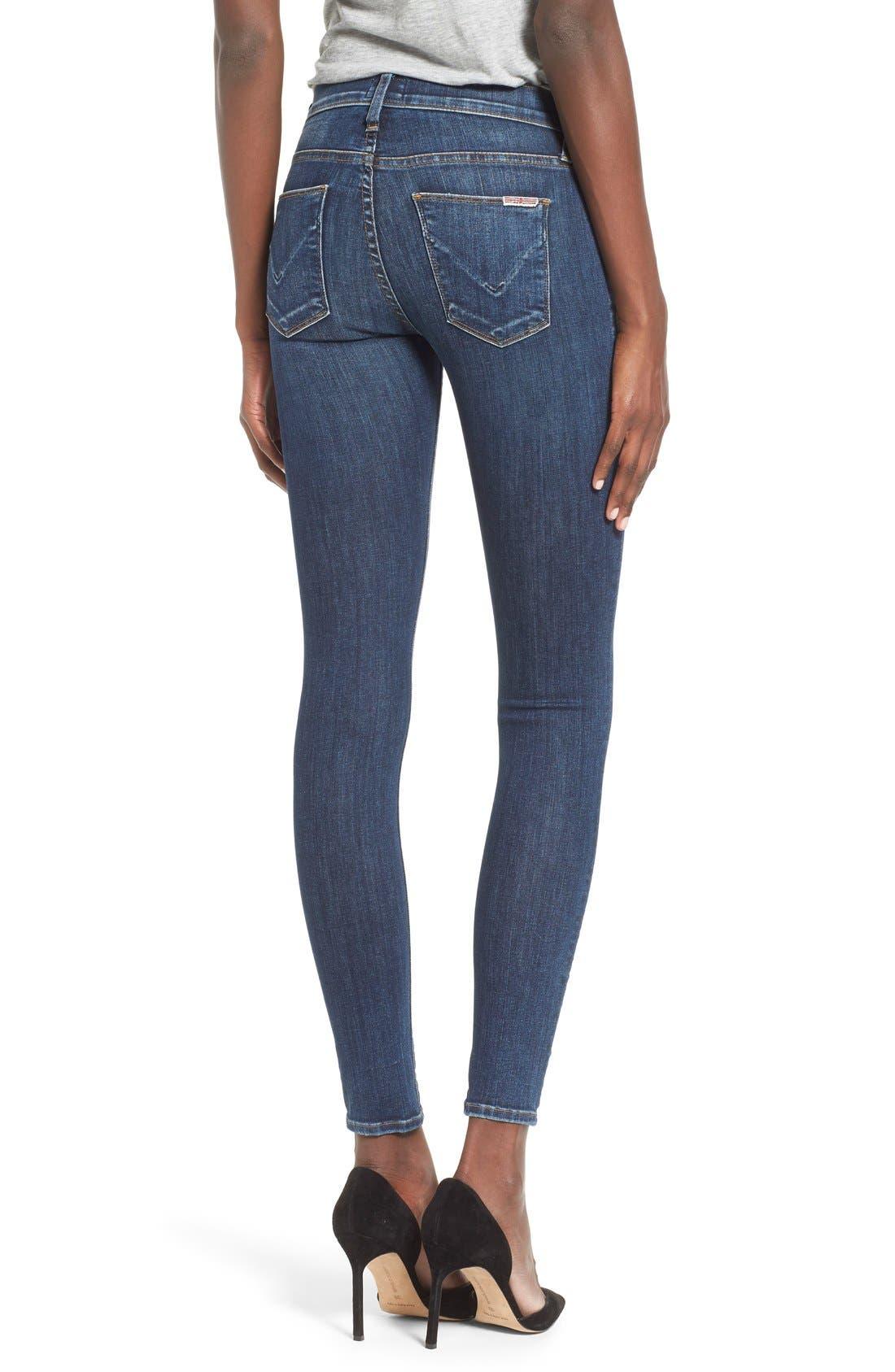 'Nico' Super Skinny Jeans,                             Alternate thumbnail 19, color,