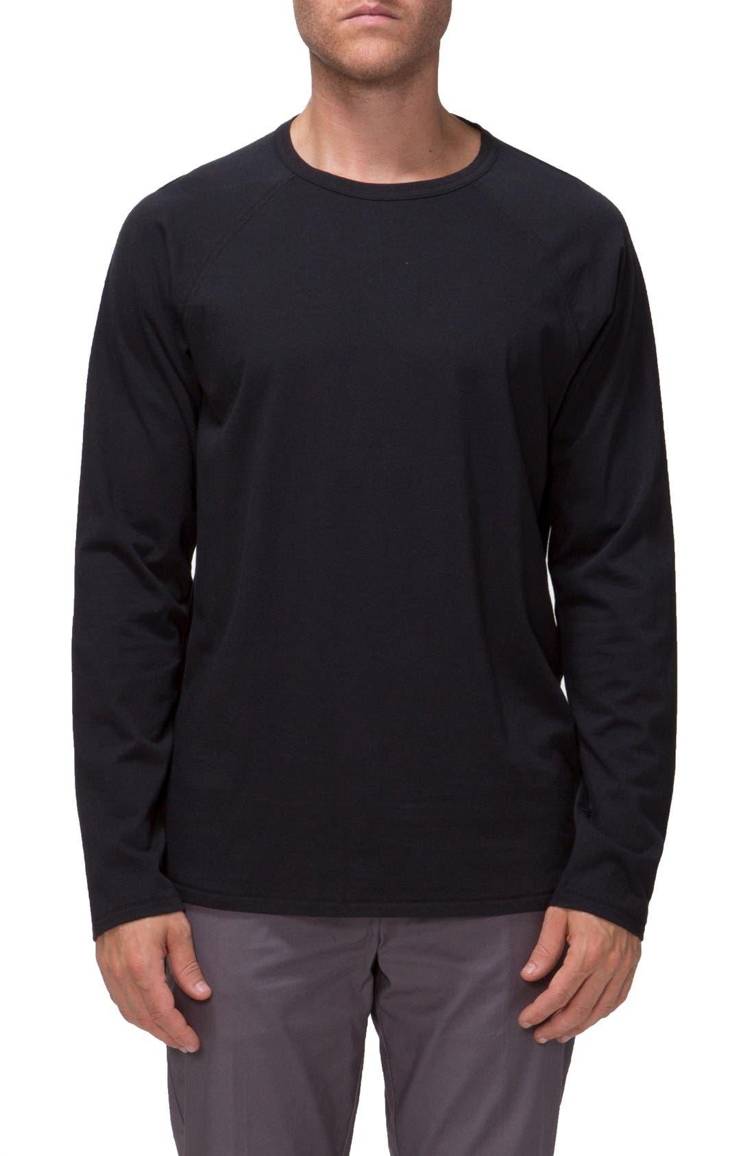 'Covert II' Raglan Long Sleeve T-Shirt,                             Main thumbnail 1, color,