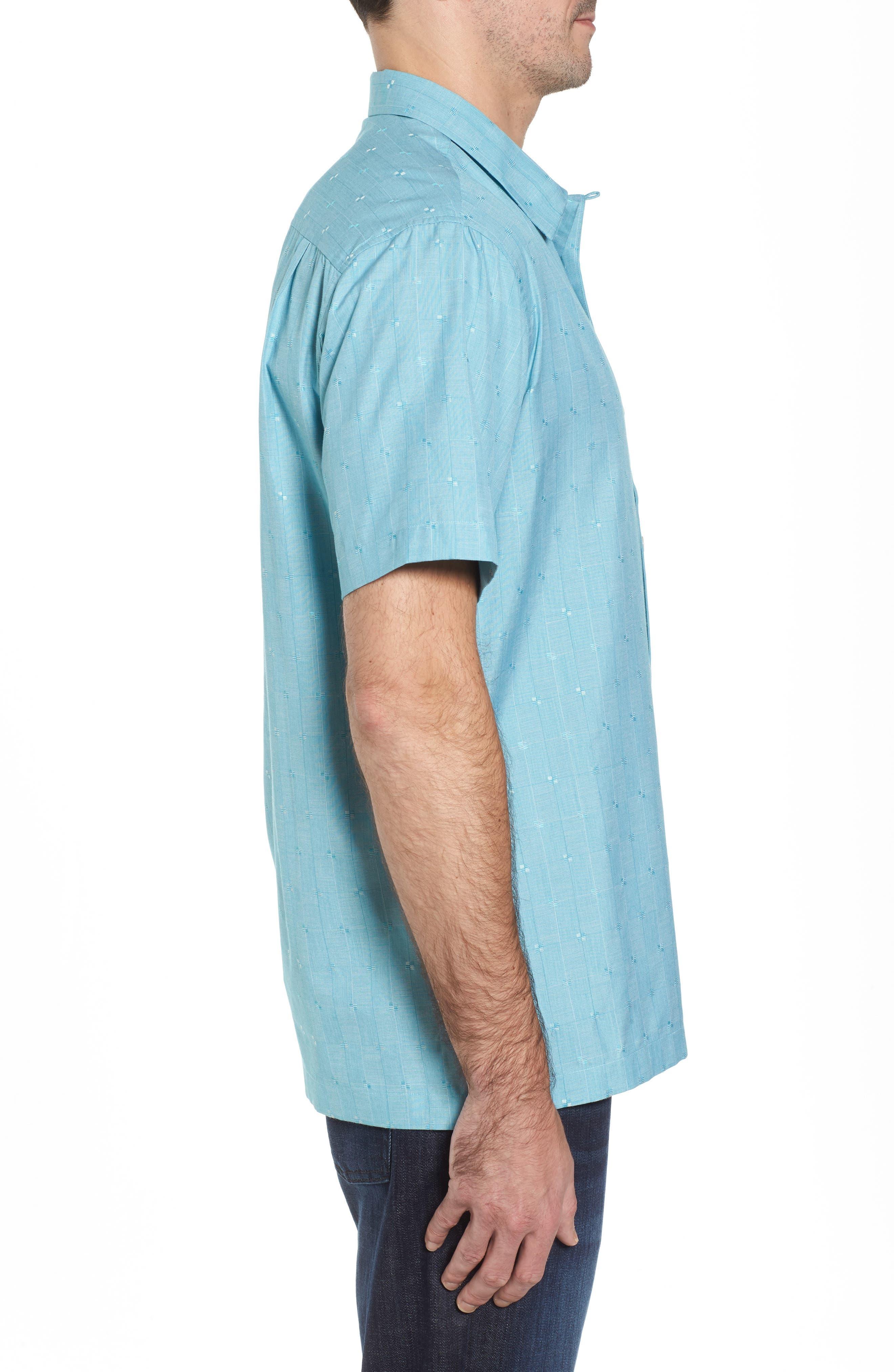 Cypress Sands Camp Shirt,                             Alternate thumbnail 3, color,