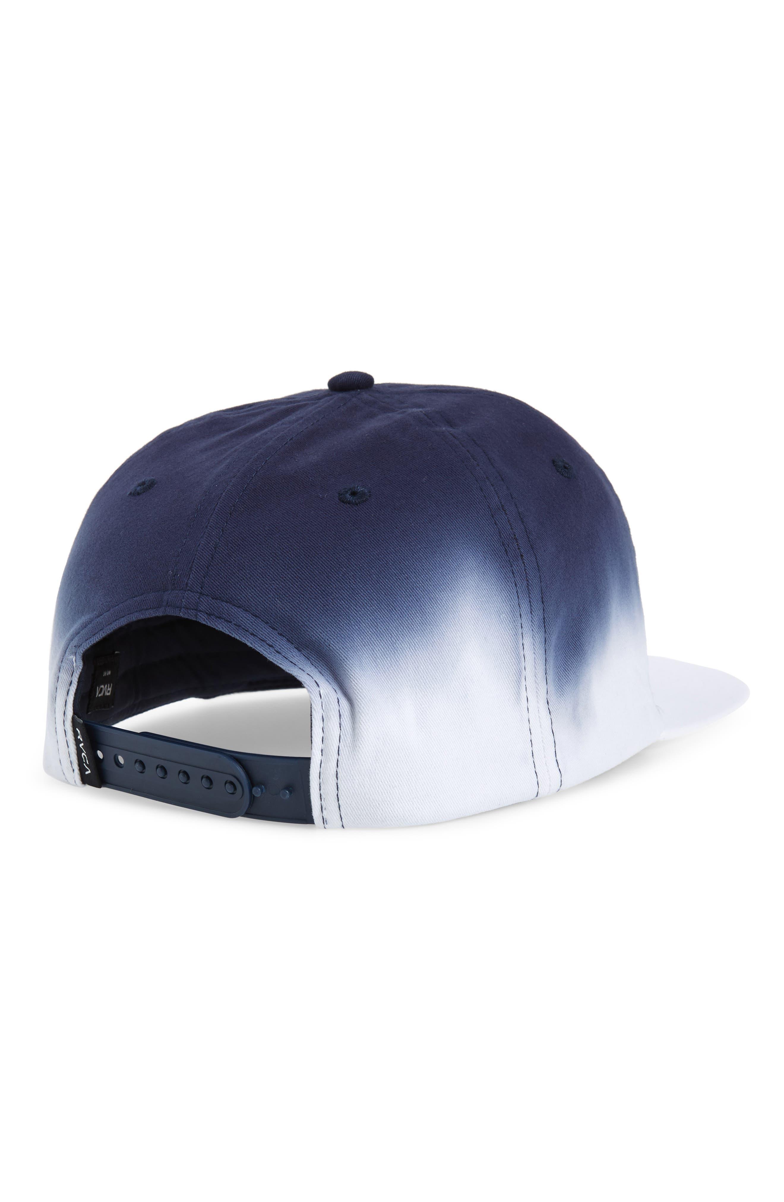 Dip Snapback Baseball Cap,                             Alternate thumbnail 2, color,                             WHITE/ BLUE