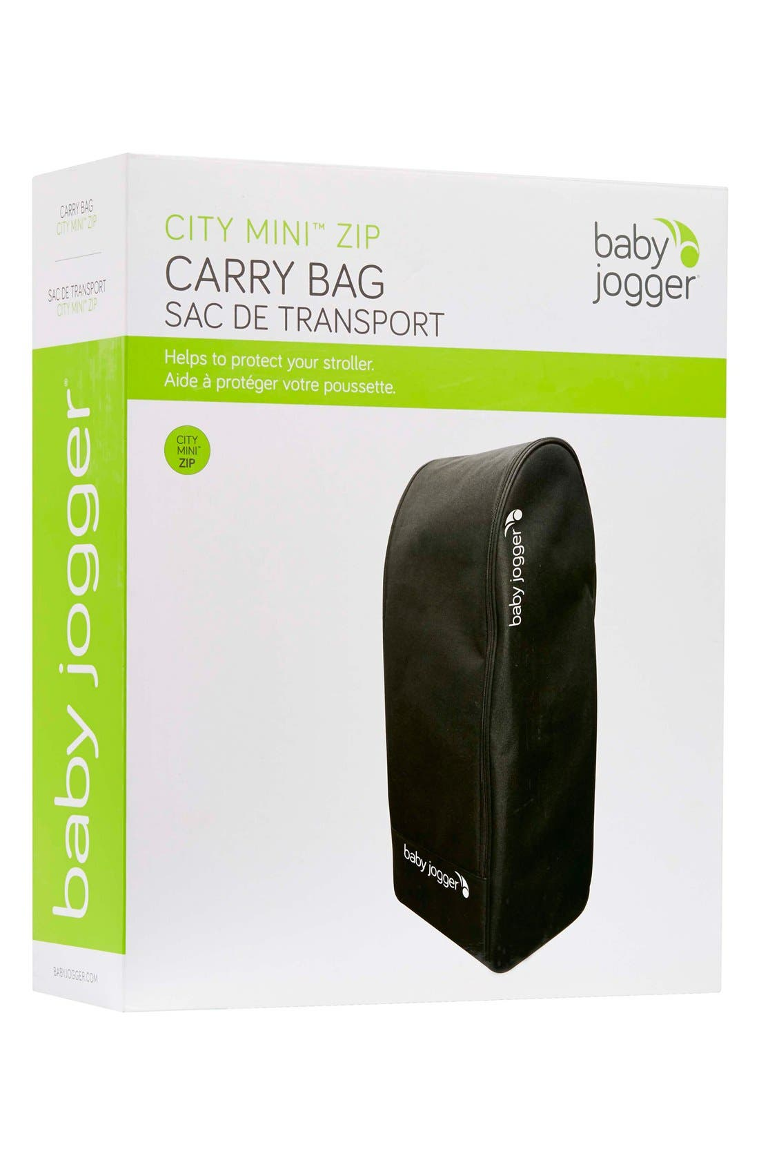 'City Mini<sup>®</sup> ZIP' Stroller Backpack Carry Bag,                             Alternate thumbnail 3, color,