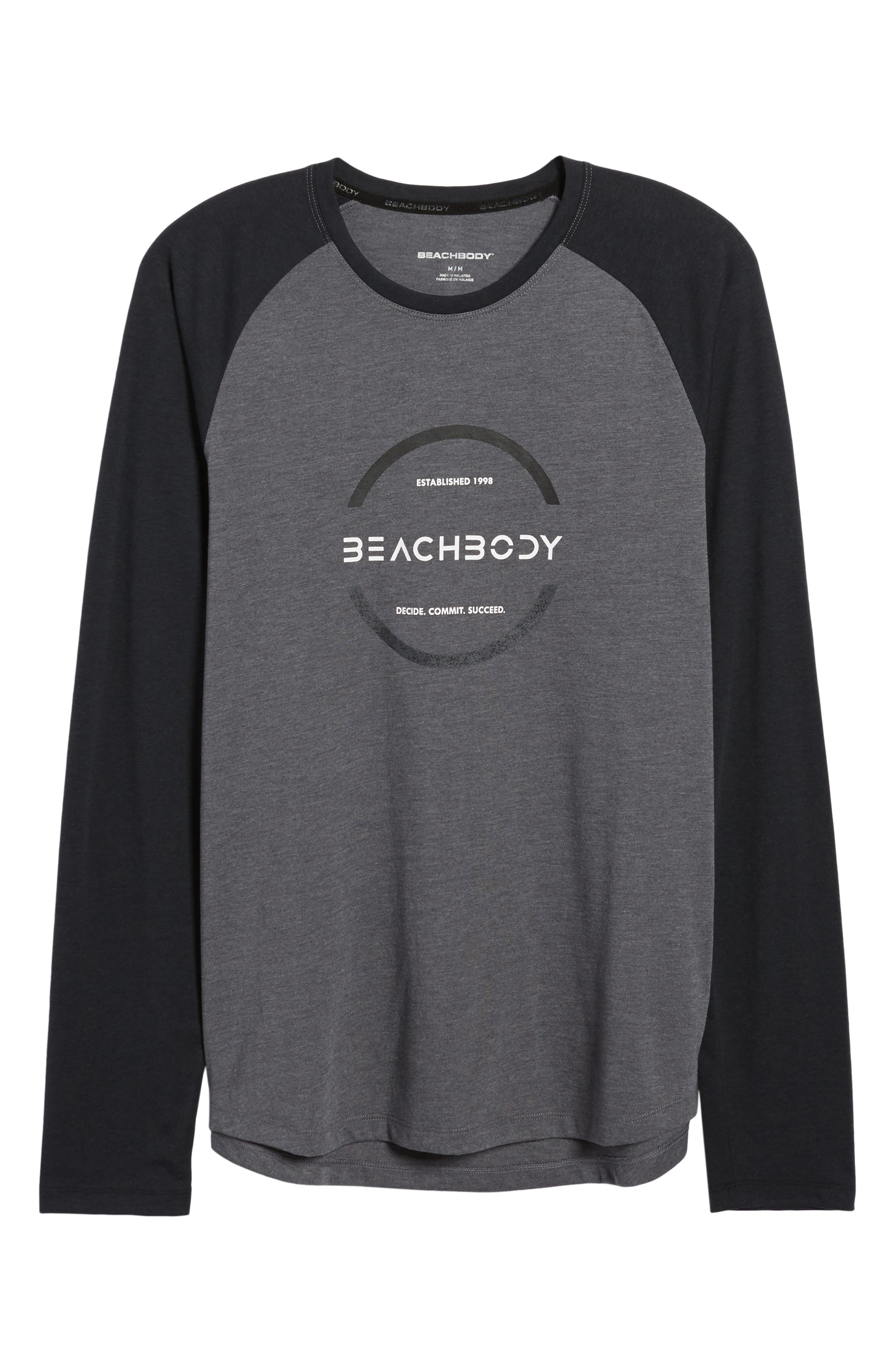 Go-To Infinity Long Sleeve T-Shirt,                             Alternate thumbnail 6, color,                             020