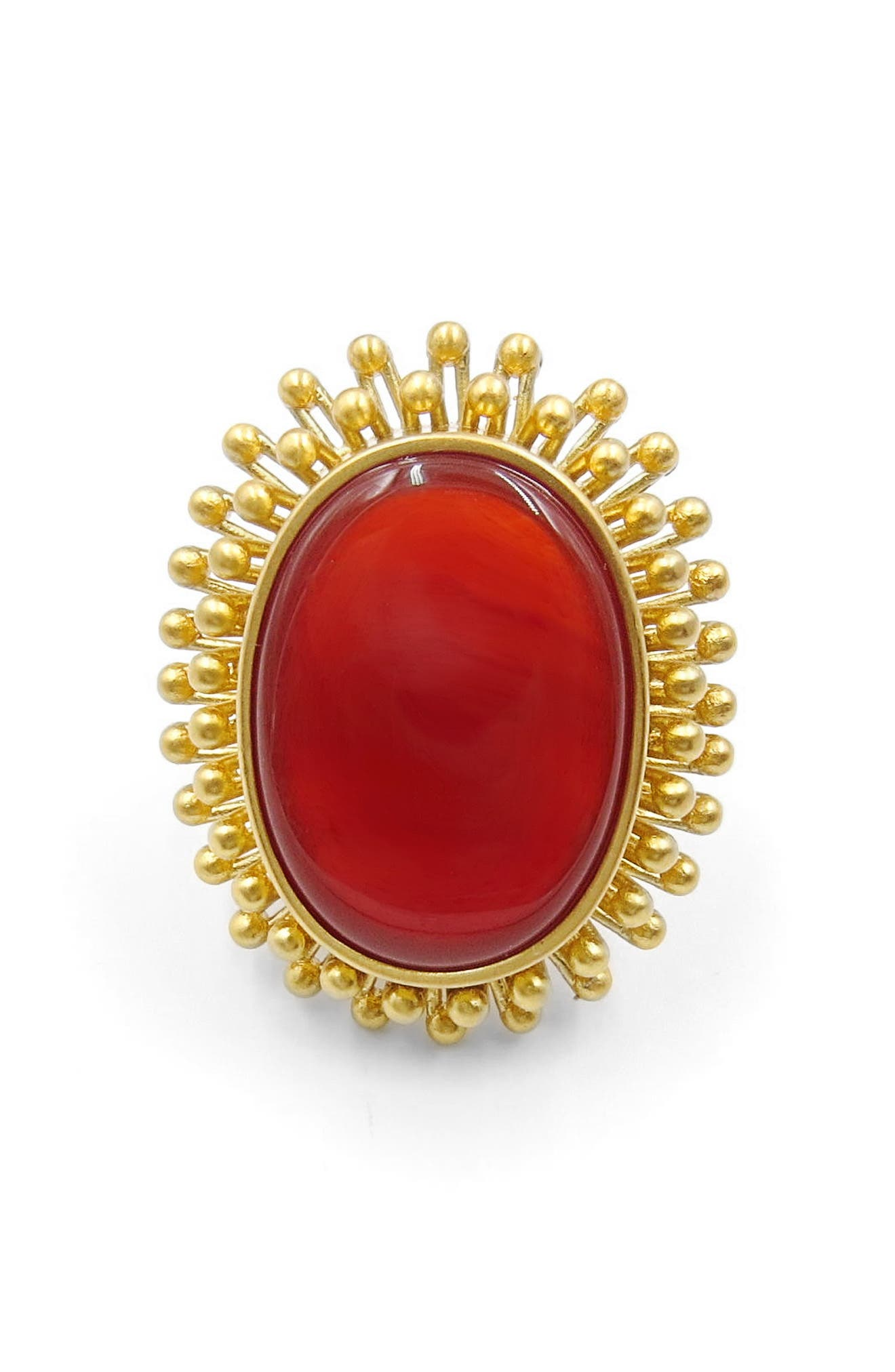 Agate Cocktail Ring,                             Alternate thumbnail 4, color,                             710
