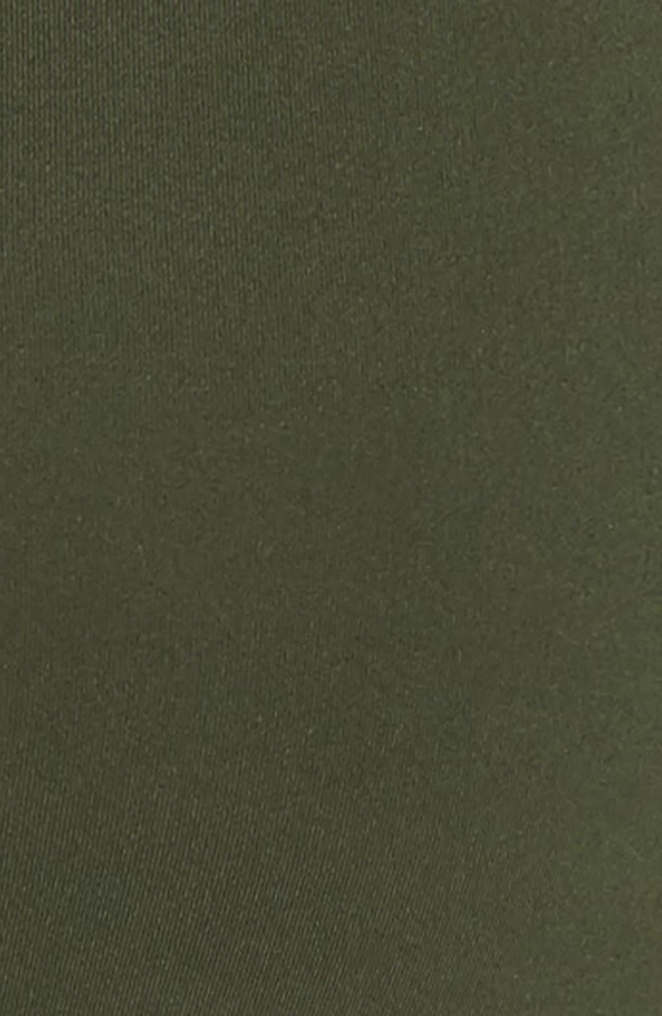 Mesh Lace-Up Sports Bra,                             Alternate thumbnail 7, color,                             310