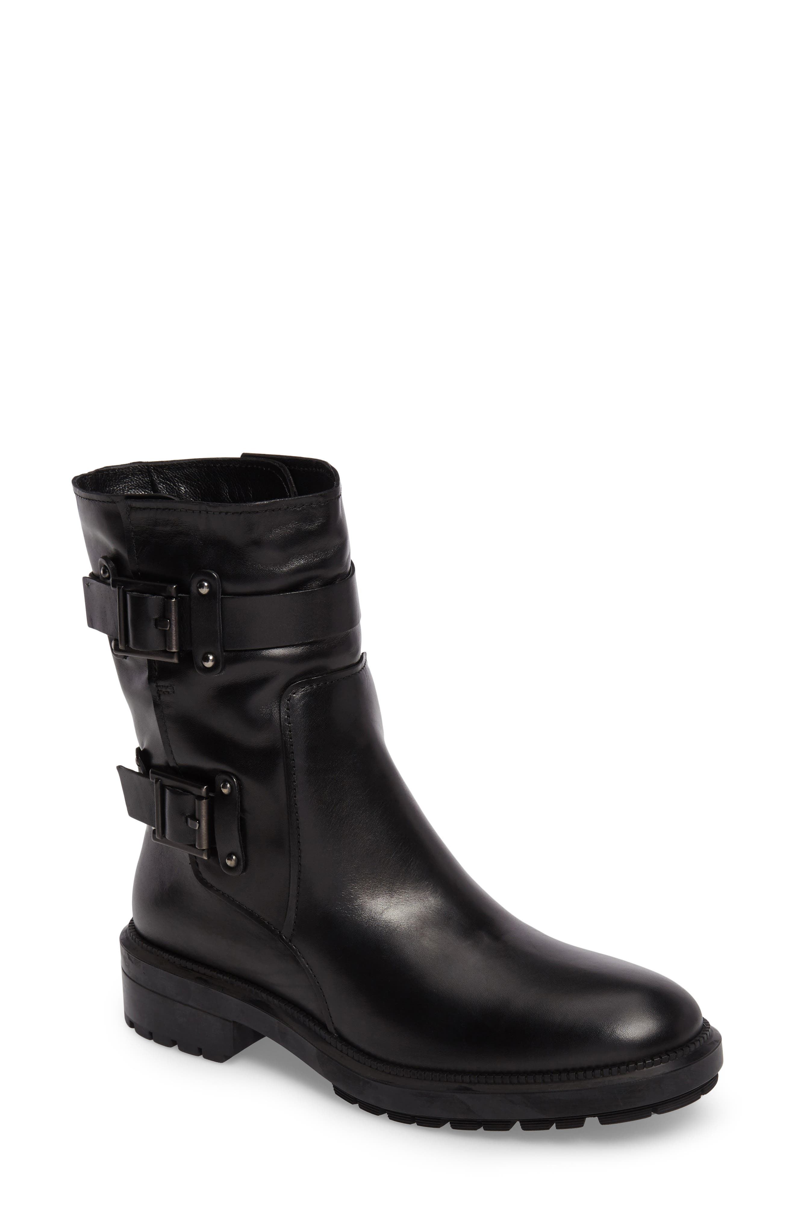 Leonie Weatherproof Leather Boot,                             Main thumbnail 1, color,
