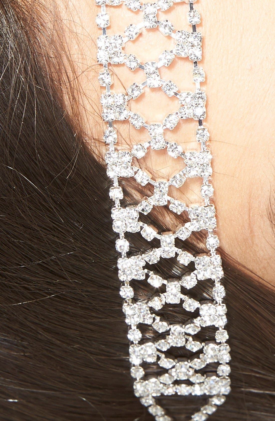 Crystal Stretch Headband,                             Alternate thumbnail 2, color,                             040