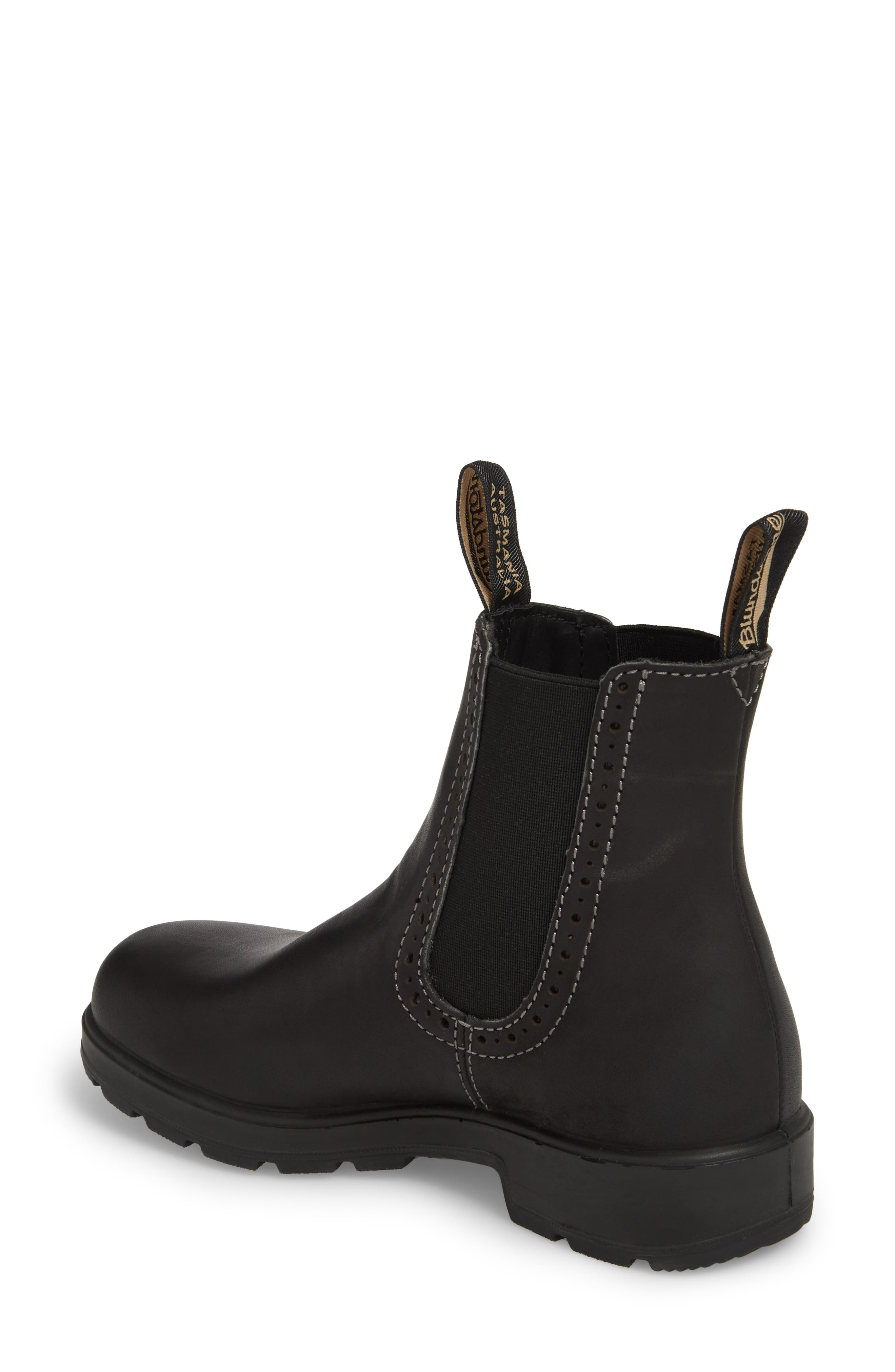 Footwear Chelsea Boot,                             Alternate thumbnail 2, color,                             VOLTAN BLACK LEATHER