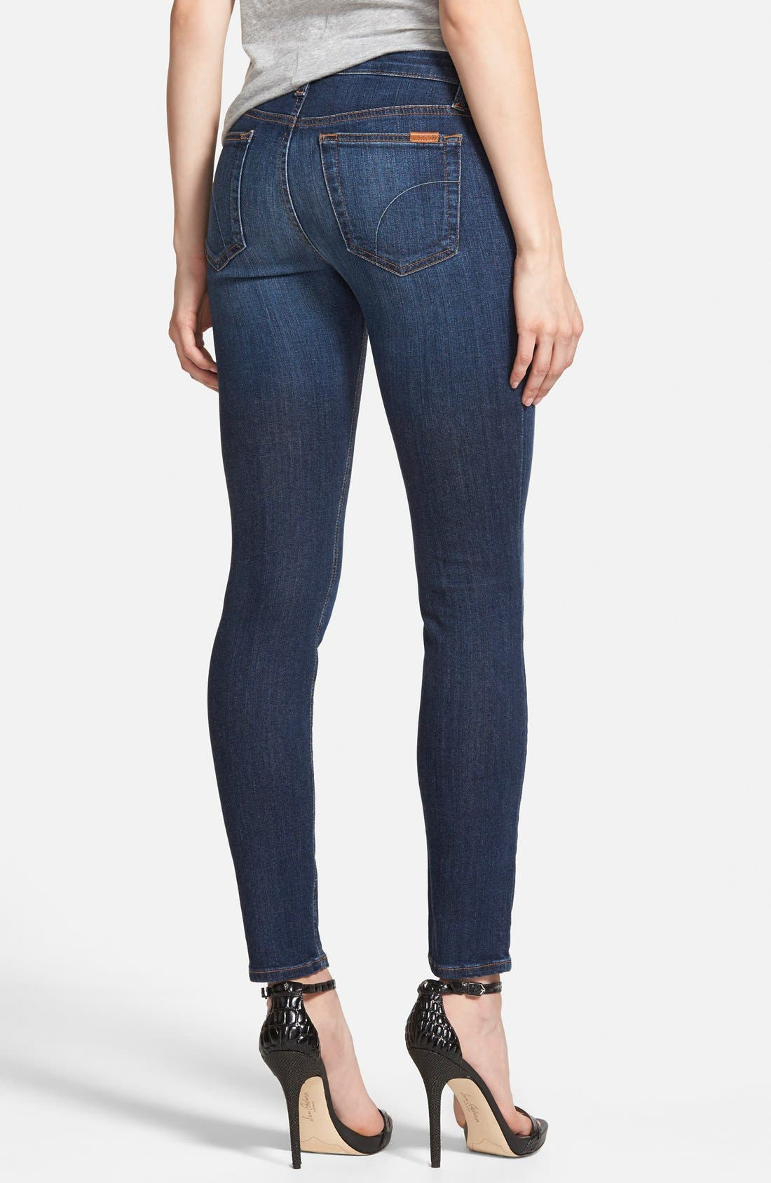 'Icon' Ankle Skinny Jeans,                             Alternate thumbnail 2, color,                             410
