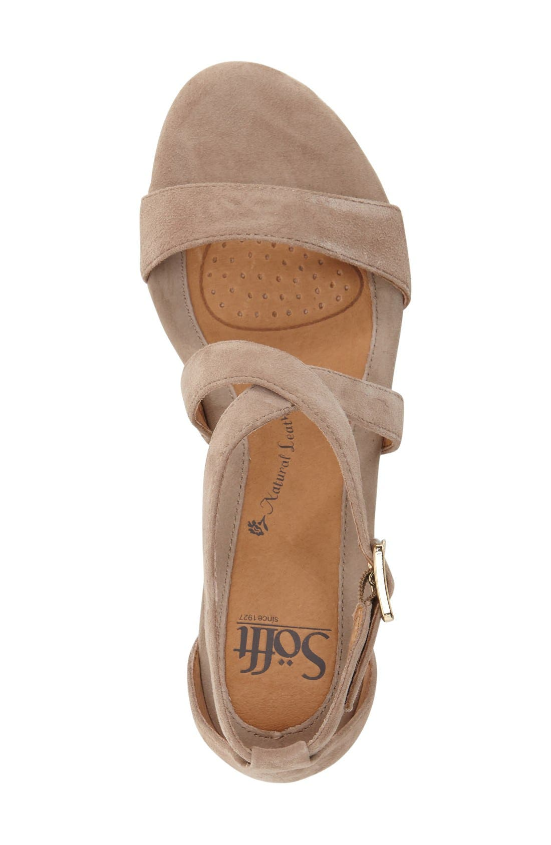 'Innis' Low Wedge Sandal,                             Alternate thumbnail 33, color,