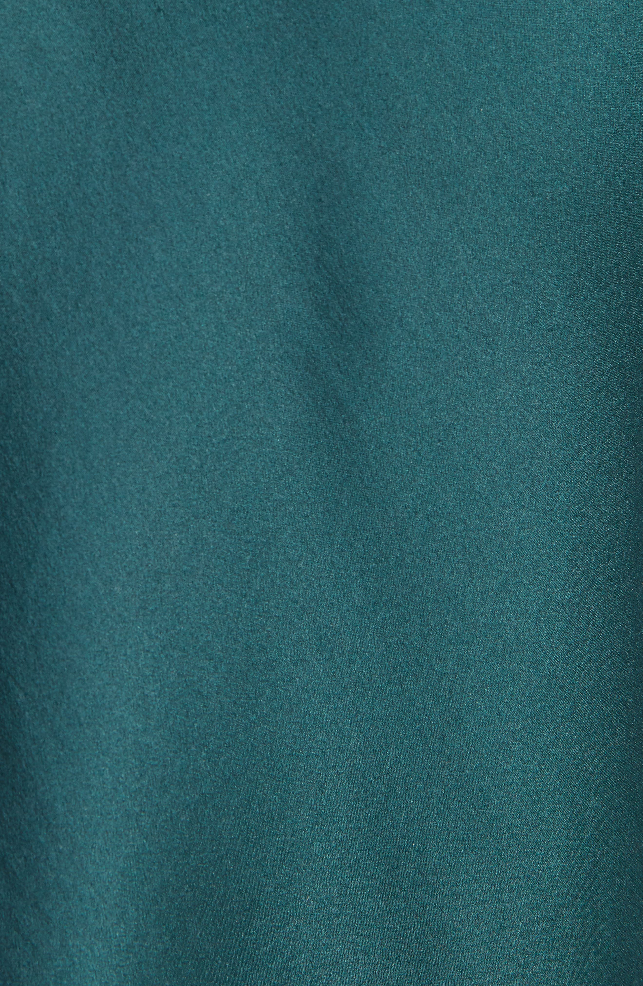 Satin Halter Dress,                             Alternate thumbnail 5, color,                             300