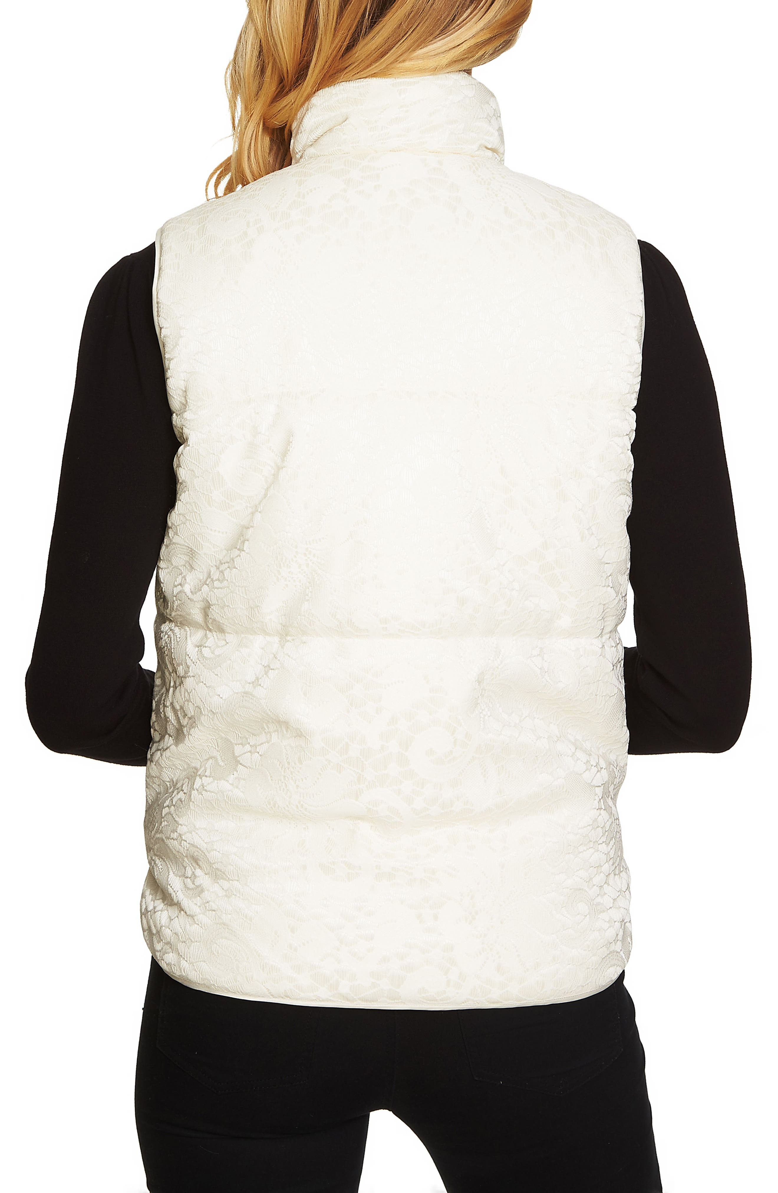 Bonded Lace Vest,                             Alternate thumbnail 3, color,                             108