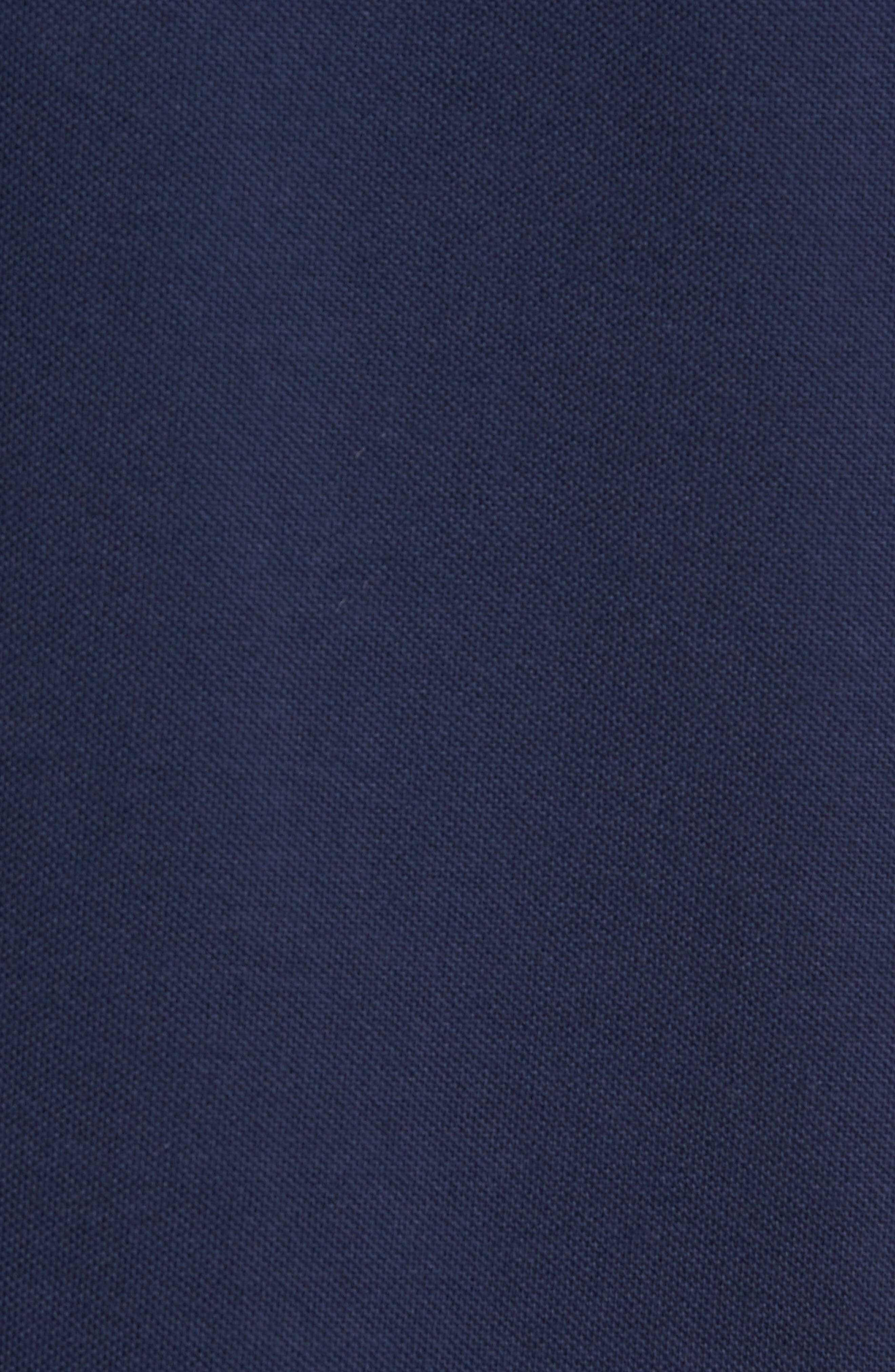 Bomber Collar Piqué Shirt,                             Alternate thumbnail 5, color,