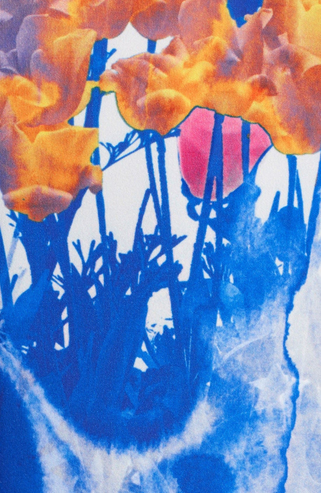 'Hannah' Print Scuba Knit Fit & Flares Dress,                             Alternate thumbnail 2, color,                             650