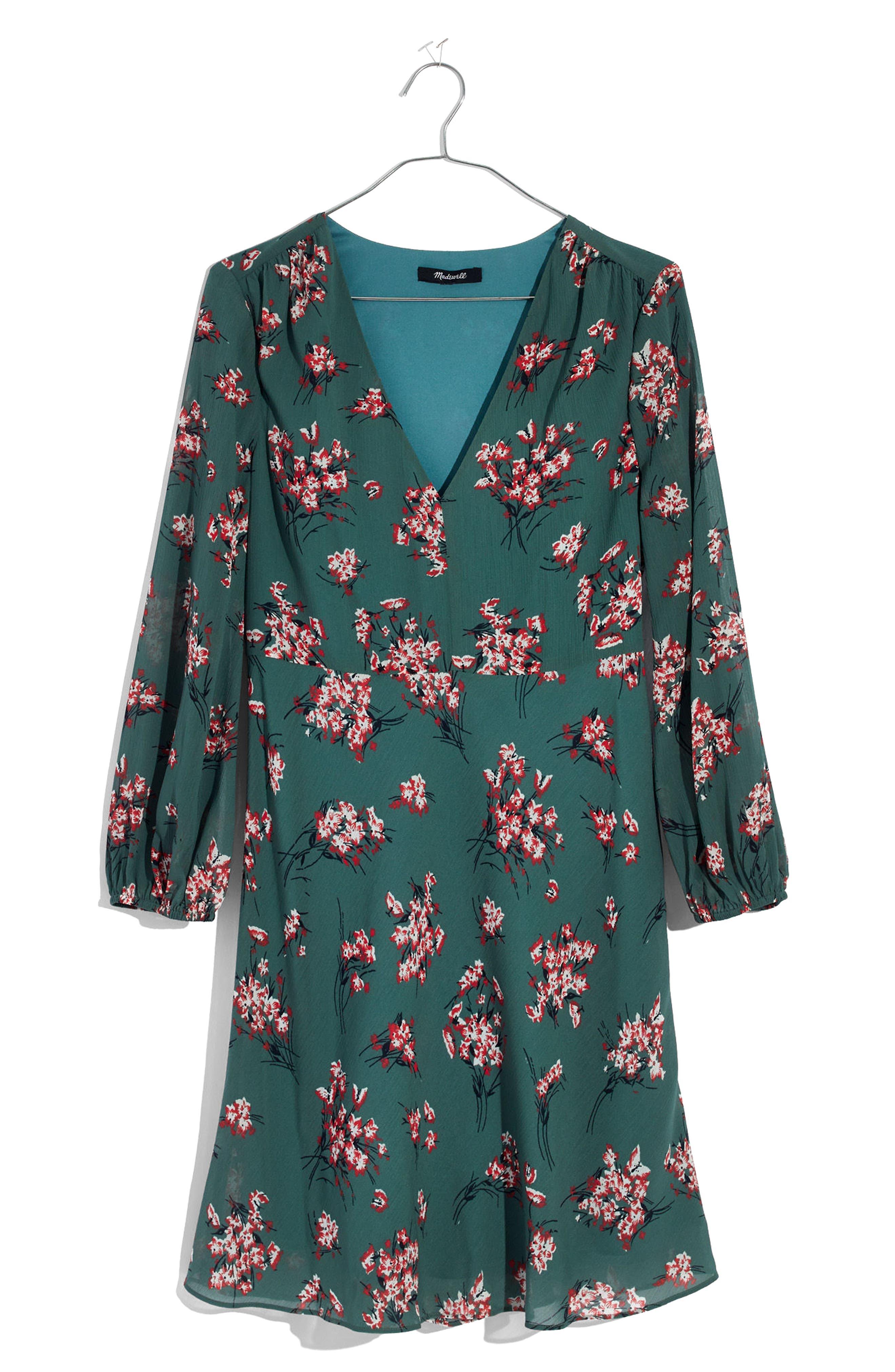Marguerite Swing Dress,                             Alternate thumbnail 3, color,                             300