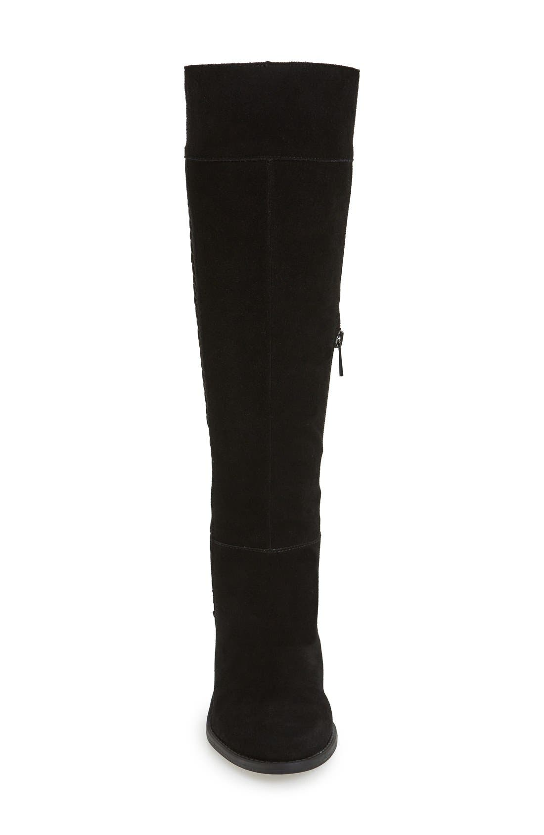 Ciarah Knee High Boot,                             Alternate thumbnail 2, color,                             001
