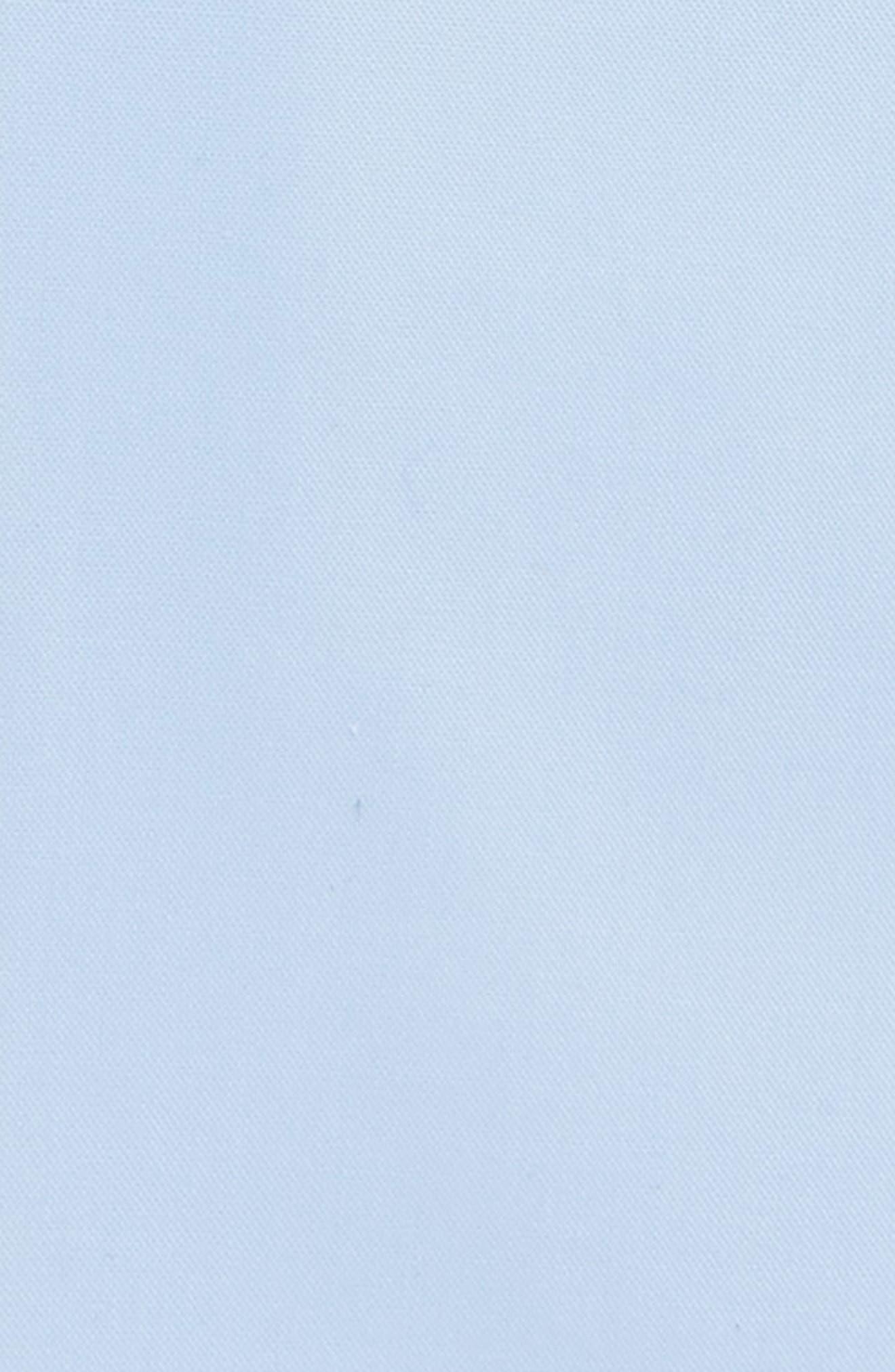 Jerris Slim Fit Easy Iron Solid Dress Shirt,                             Alternate thumbnail 5, color,