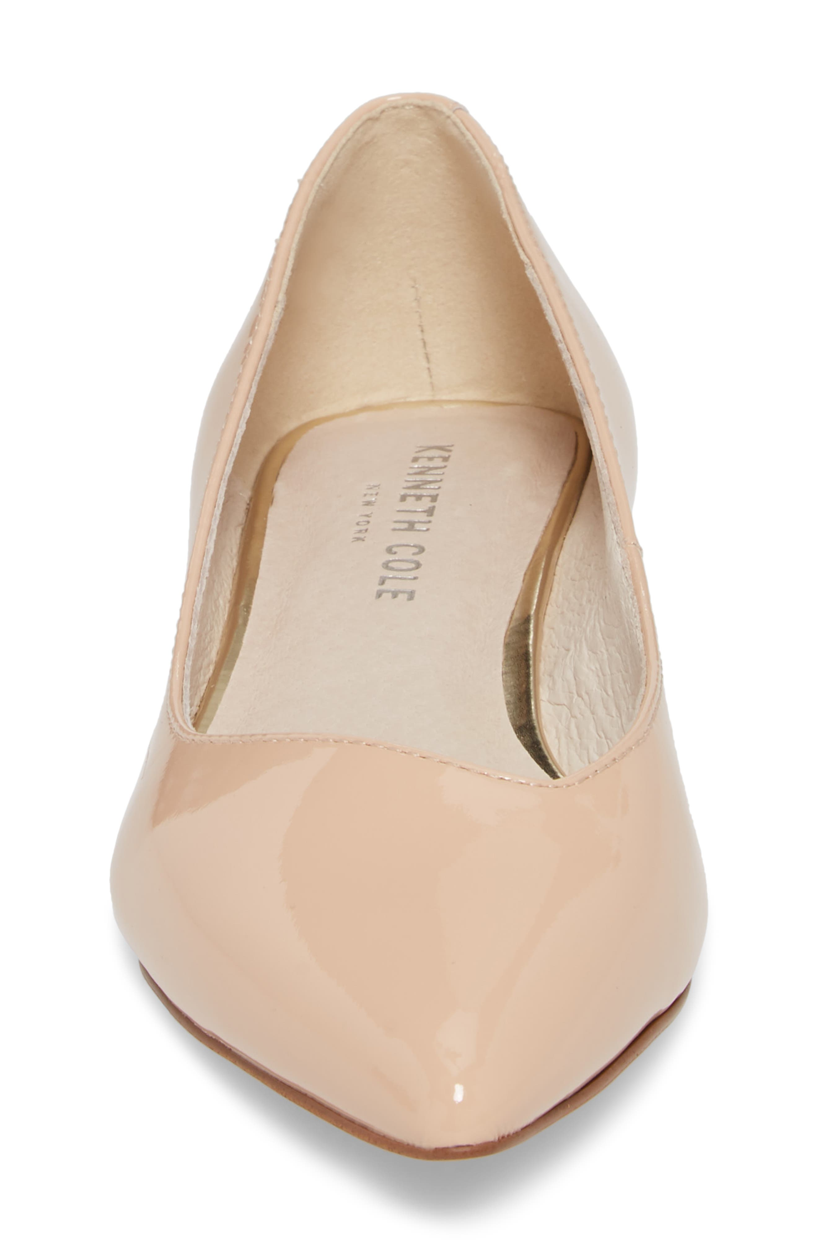 Ames Pointy Toe Flat,                             Alternate thumbnail 4, color,                             294