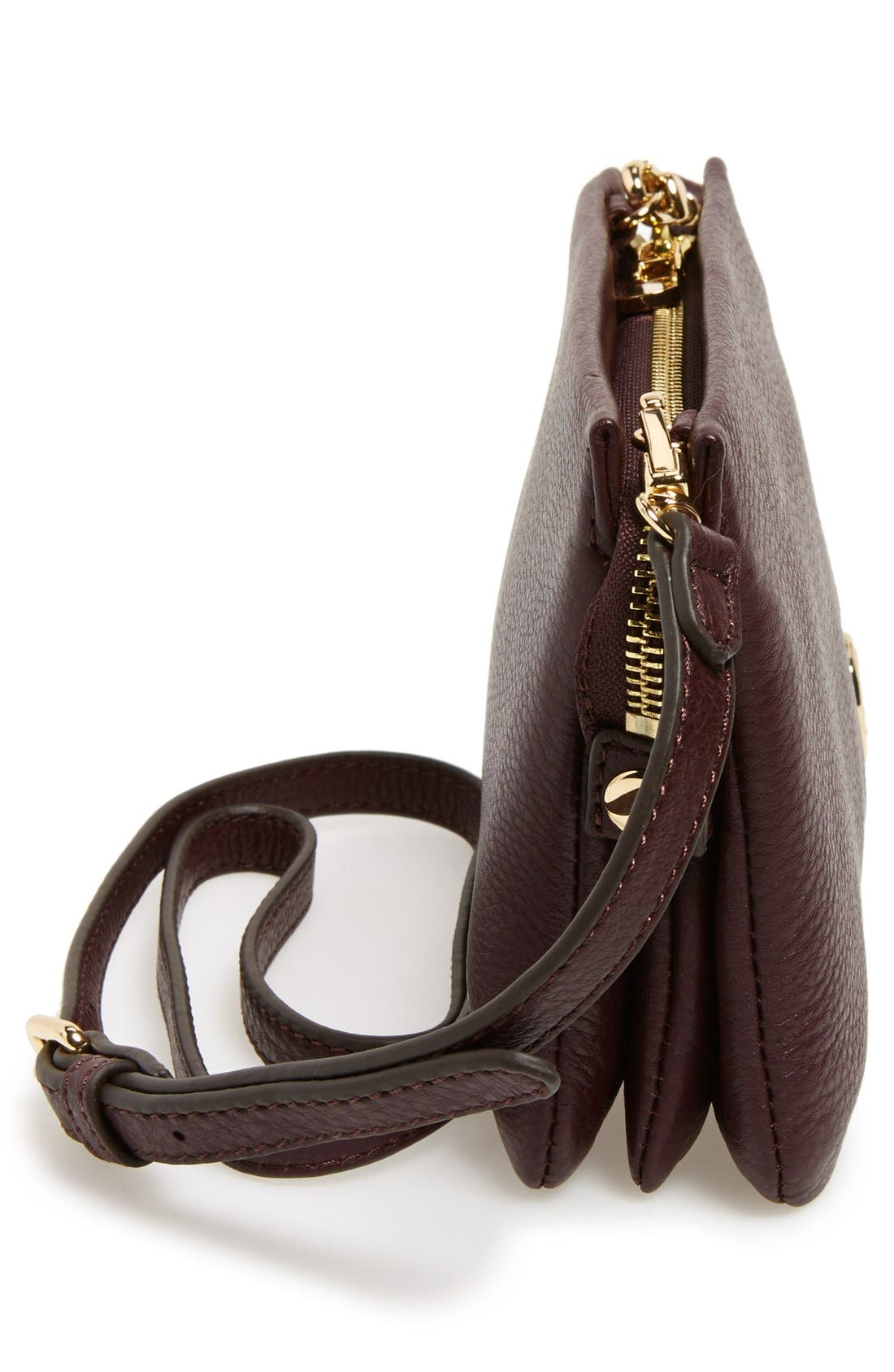 'Cami' Leather Crossbody Bag,                             Alternate thumbnail 139, color,