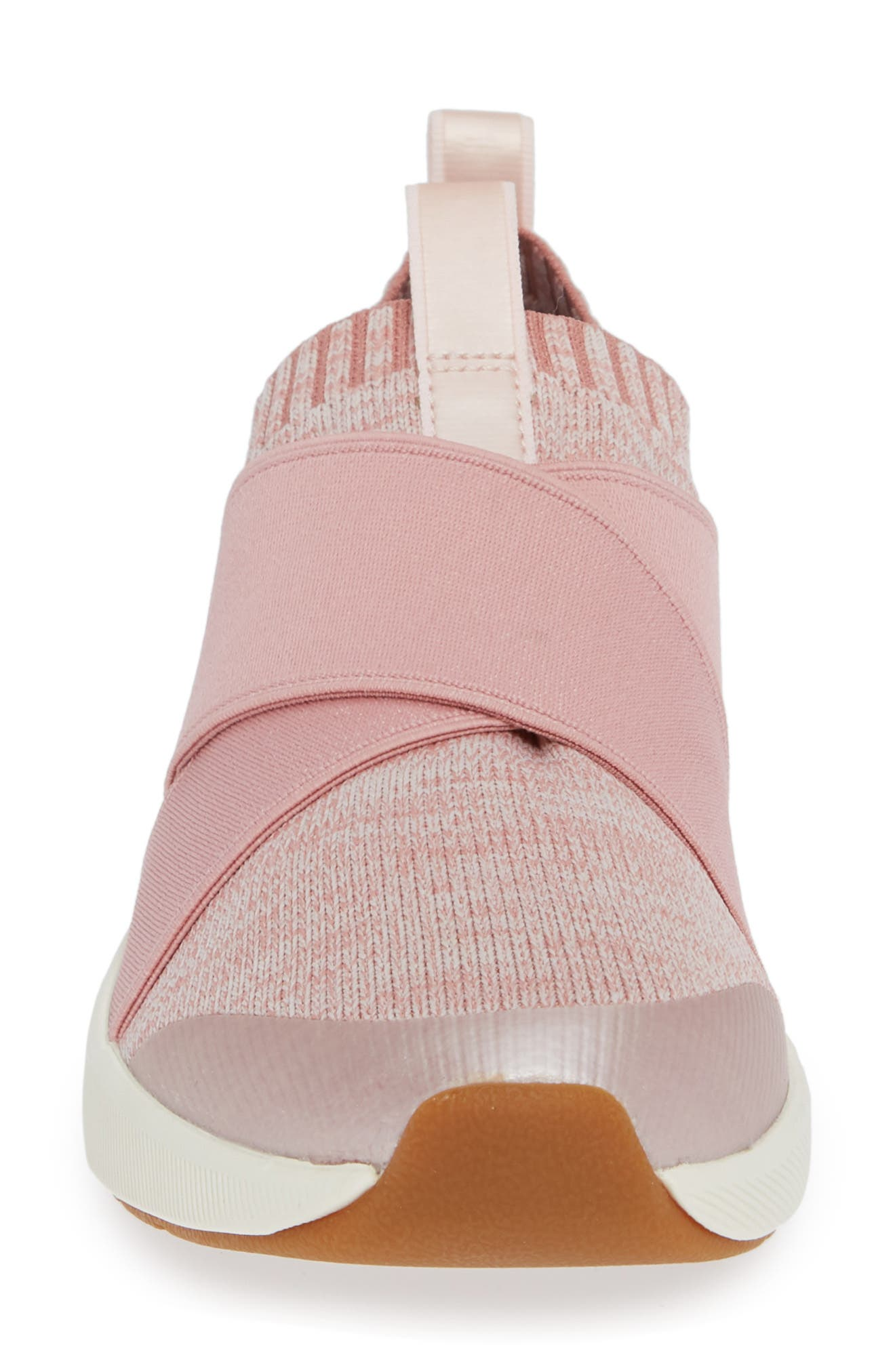 KEDS<SUP>®</SUP>,                             Studio Jumper Knit Sneaker,                             Alternate thumbnail 4, color,                             LIGHT PINK