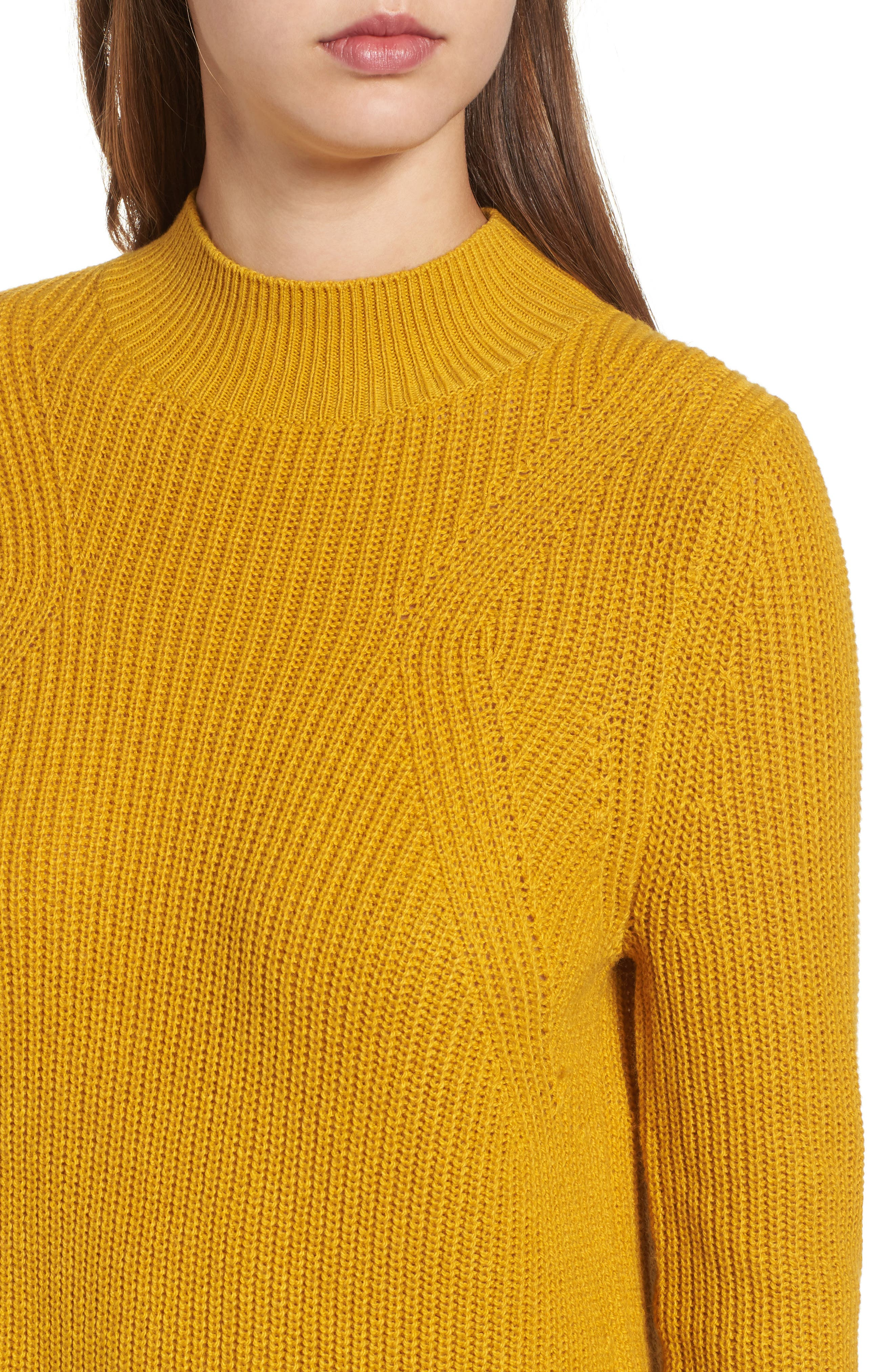 Mock Neck Tunic Sweater,                             Alternate thumbnail 26, color,