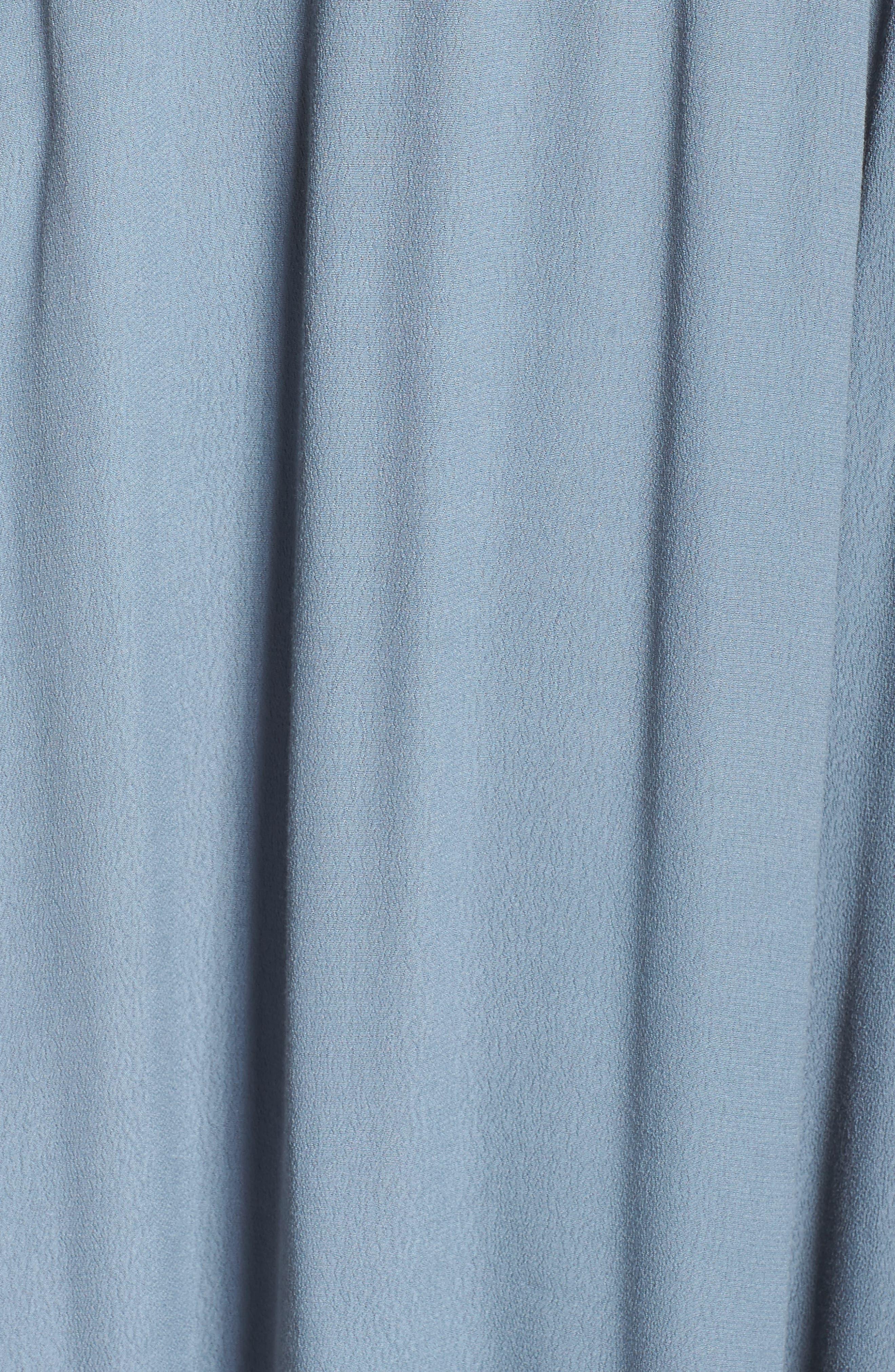 Roe + May Jolie Crepe Peplum Dress,                             Alternate thumbnail 10, color,