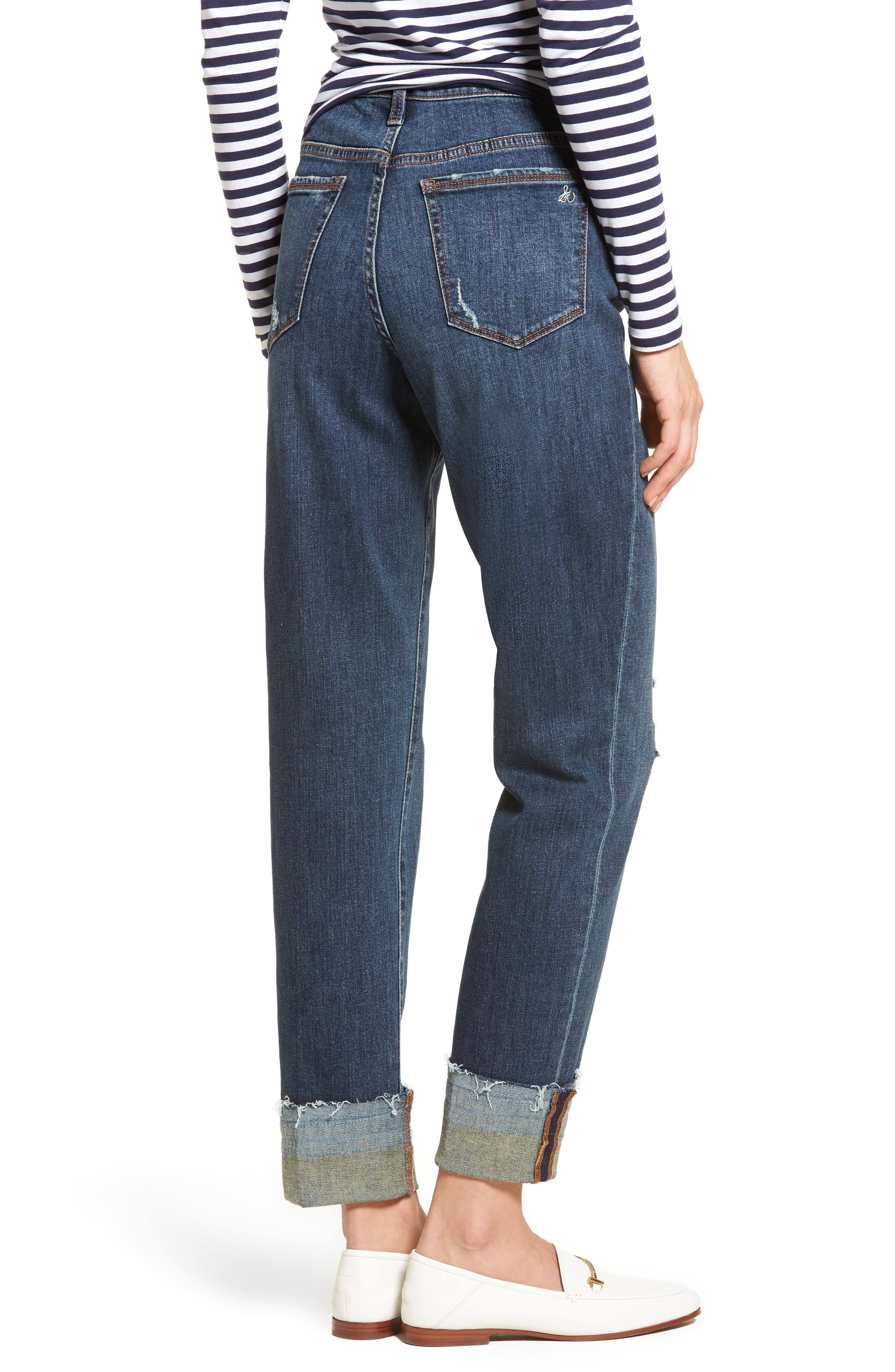 The Mary Jane High Rise Jeans,                             Alternate thumbnail 2, color,                             420