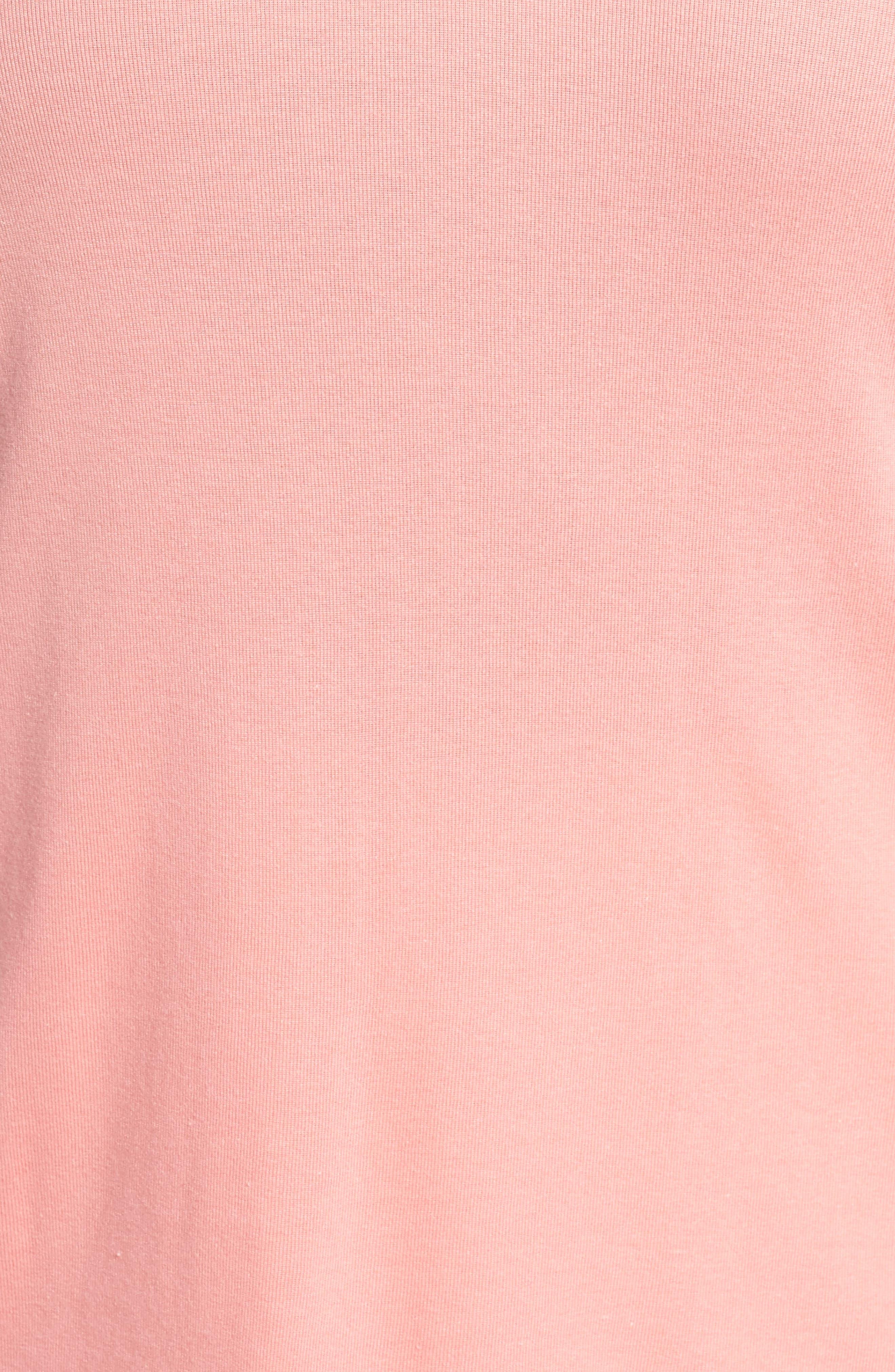 Short Sleeve V-Neck Tee,                             Alternate thumbnail 170, color,