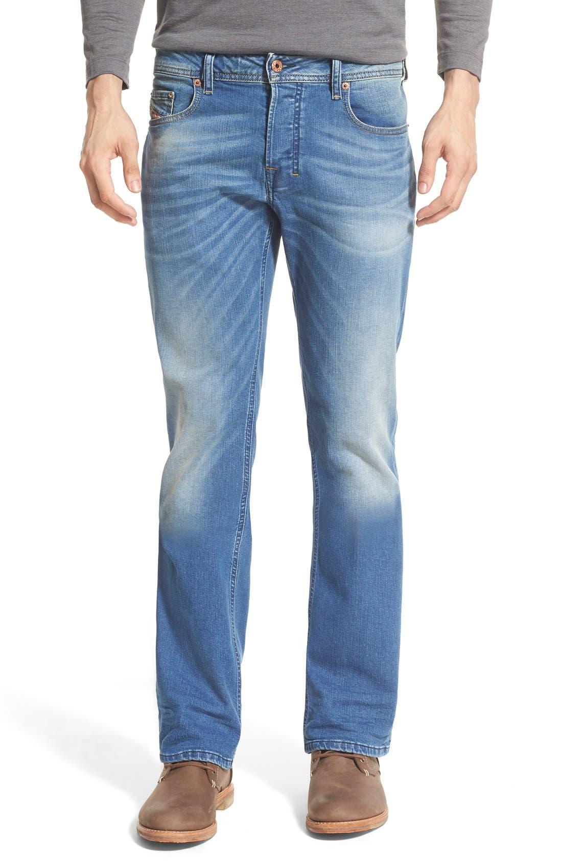 'Zatiny' Bootcut Jeans,                             Main thumbnail 1, color,                             400