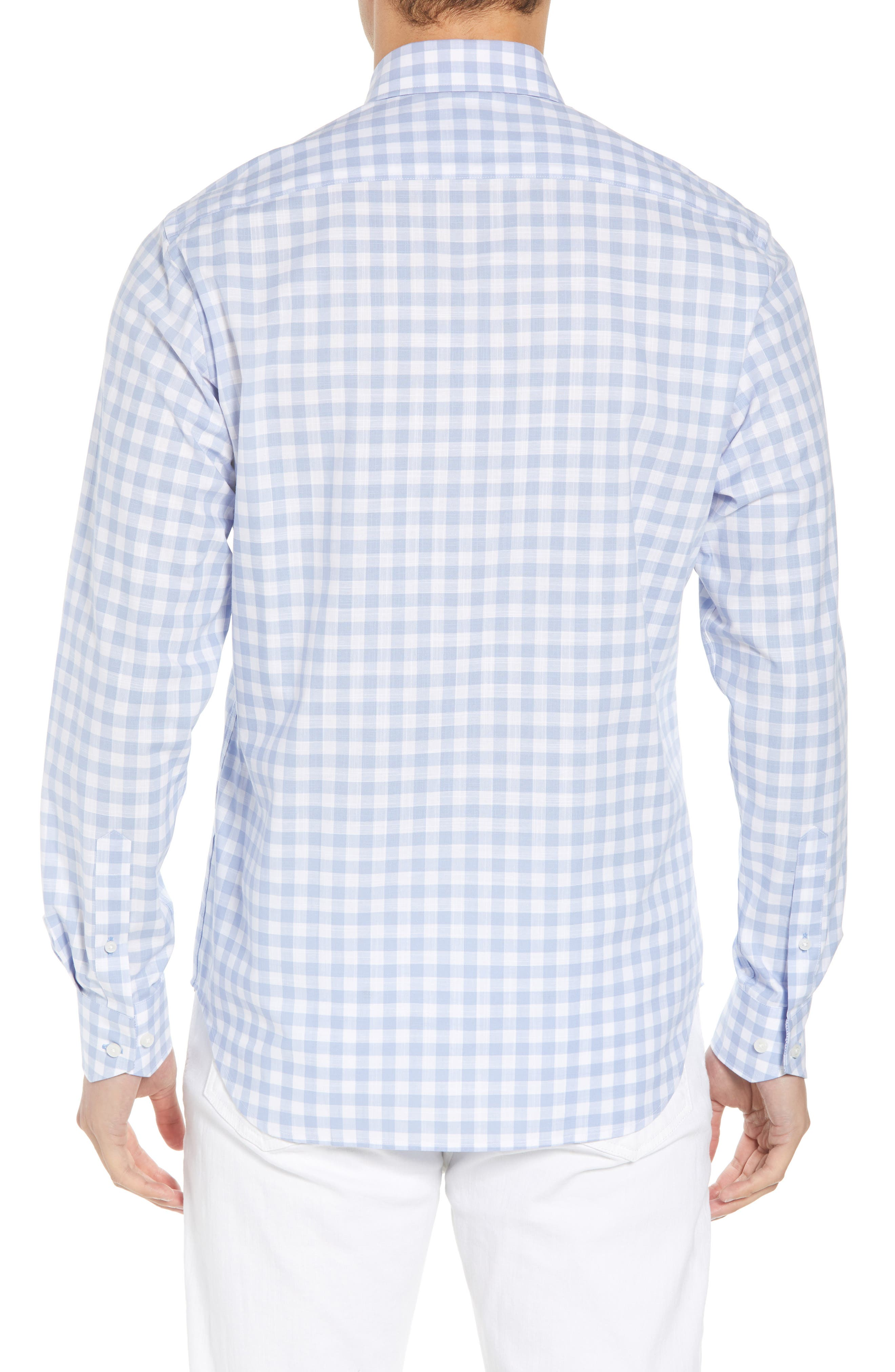 Eitenne Regular Fit Check Sport Shirt,                             Alternate thumbnail 2, color,                             450