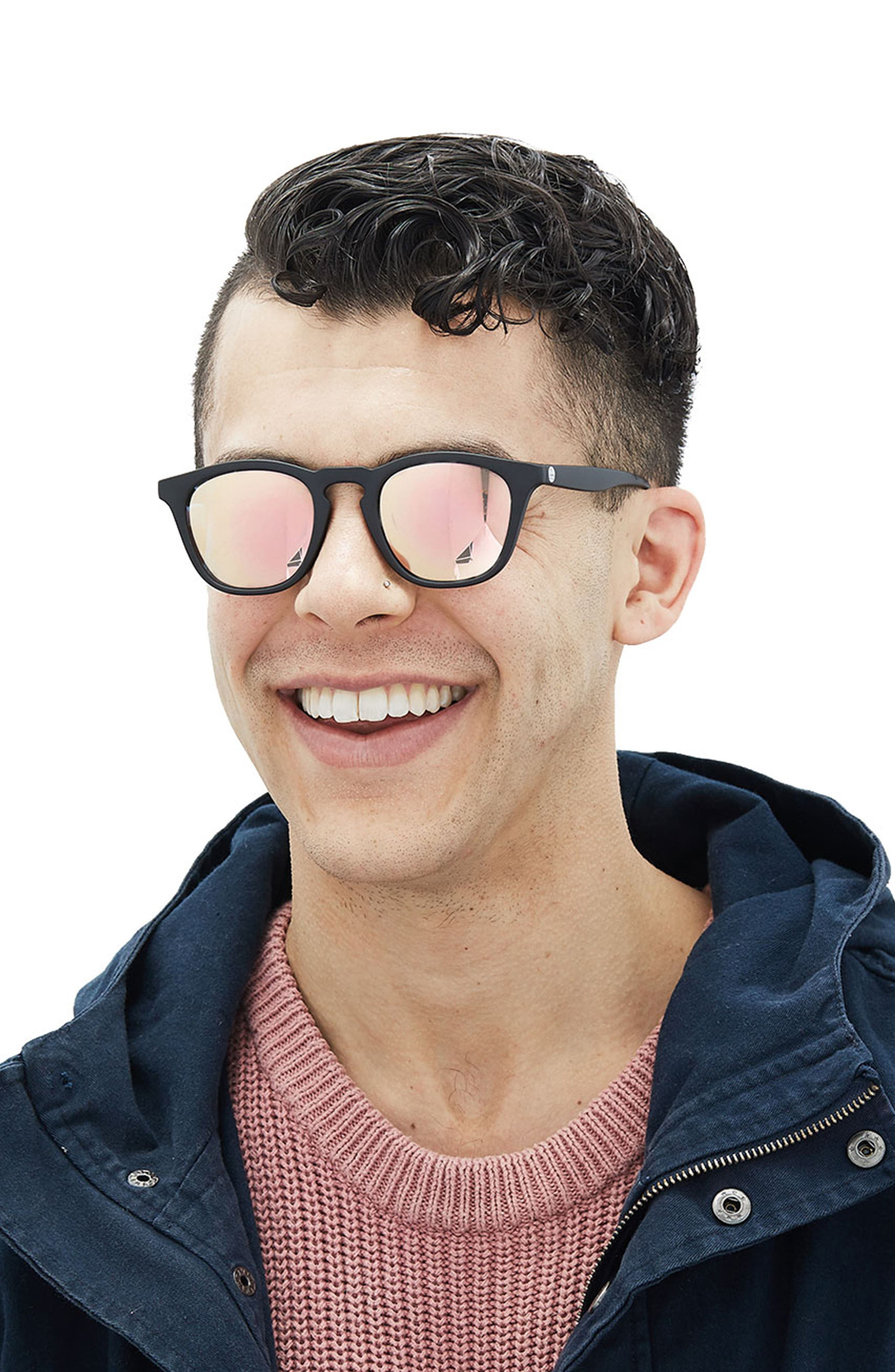 SUNSKI,                             Portola 47mm Polarized Sunglasses,                             Alternate thumbnail 4, color,                             TORTOISE AQUA