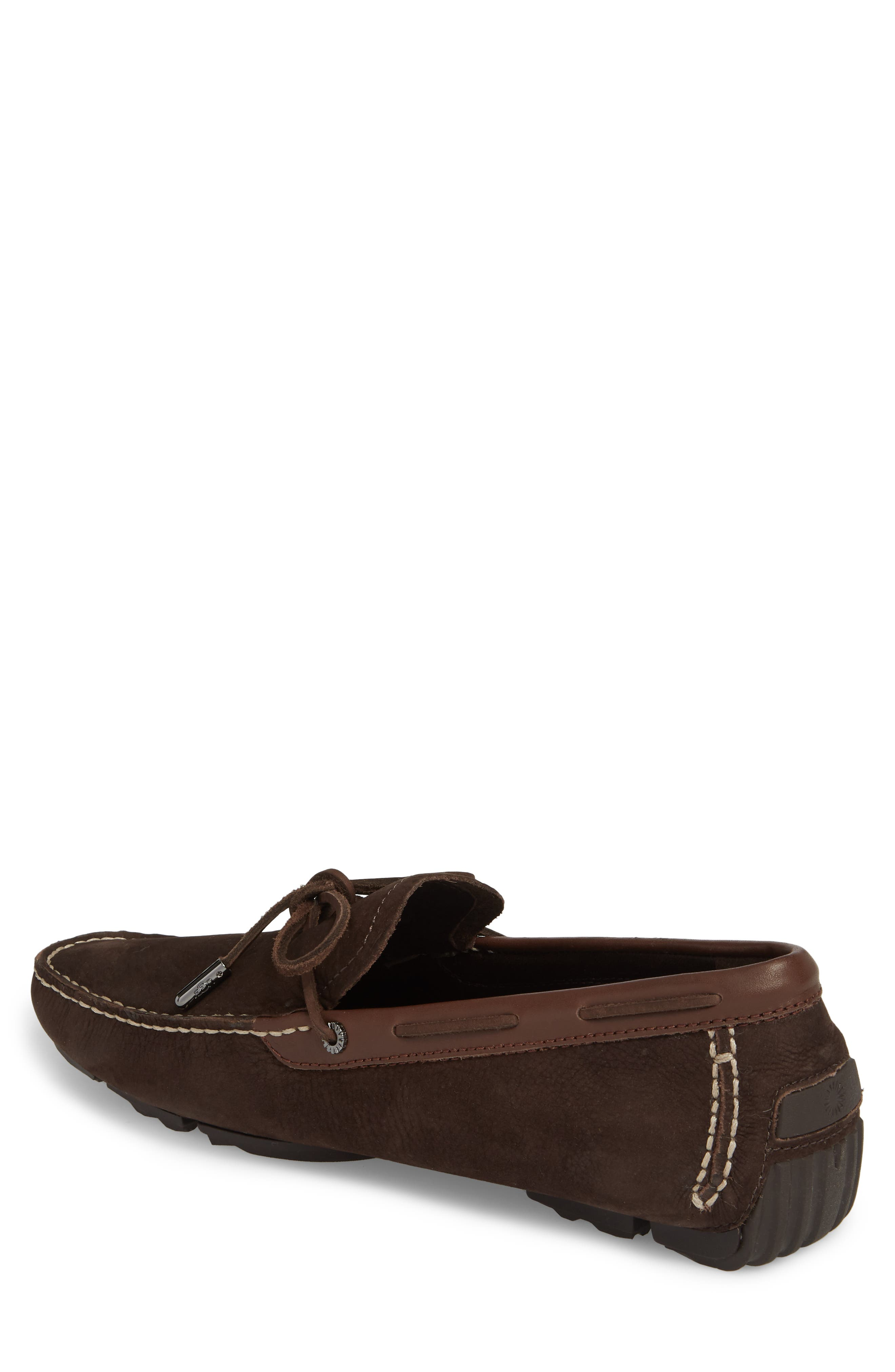 Bel Air Driving Moccasin,                             Alternate thumbnail 2, color,                             STOUT LEATHER